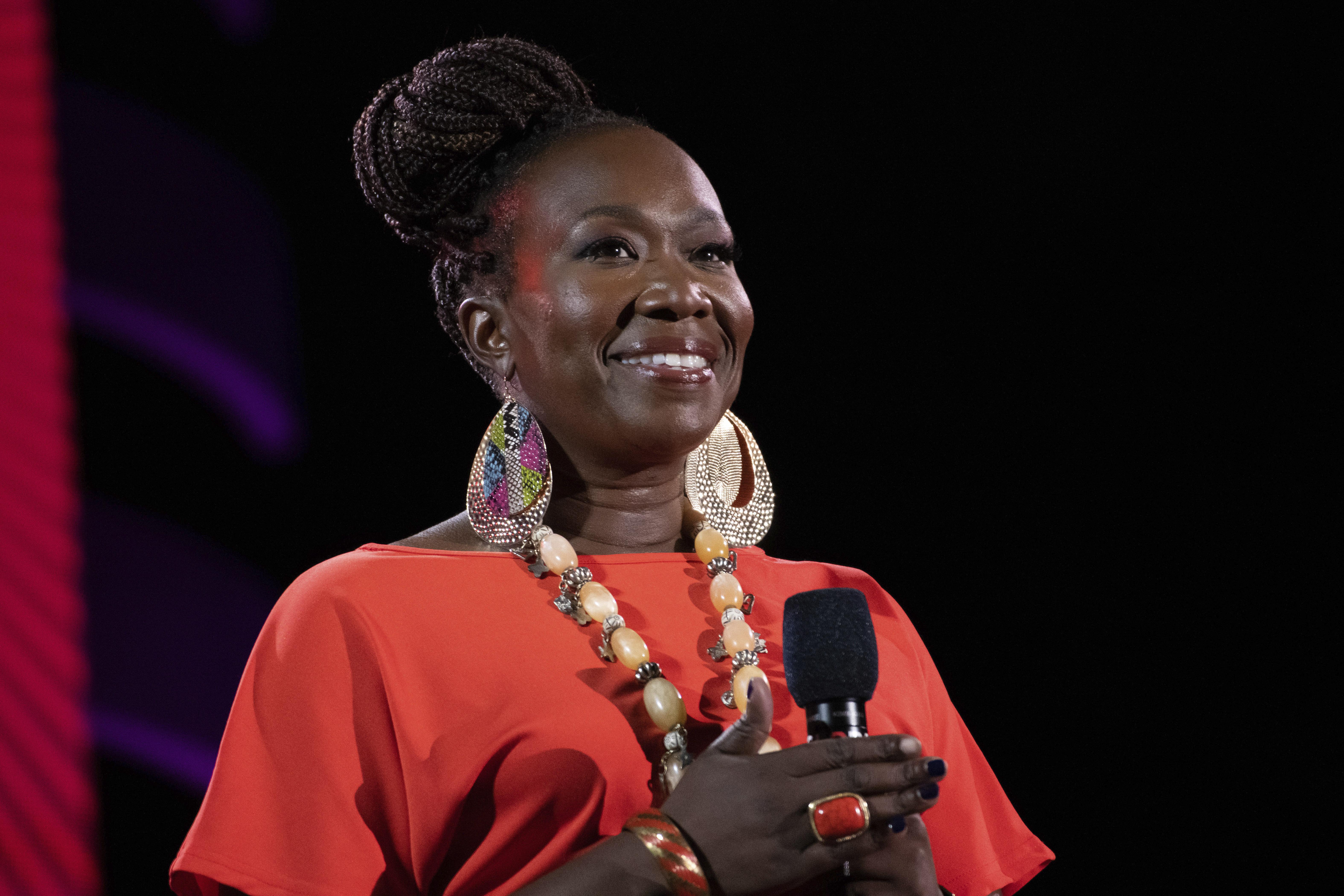 Joy Reid speaks at the 2019 Global Citizen Festival on Sept. 28, 2019, in New York.