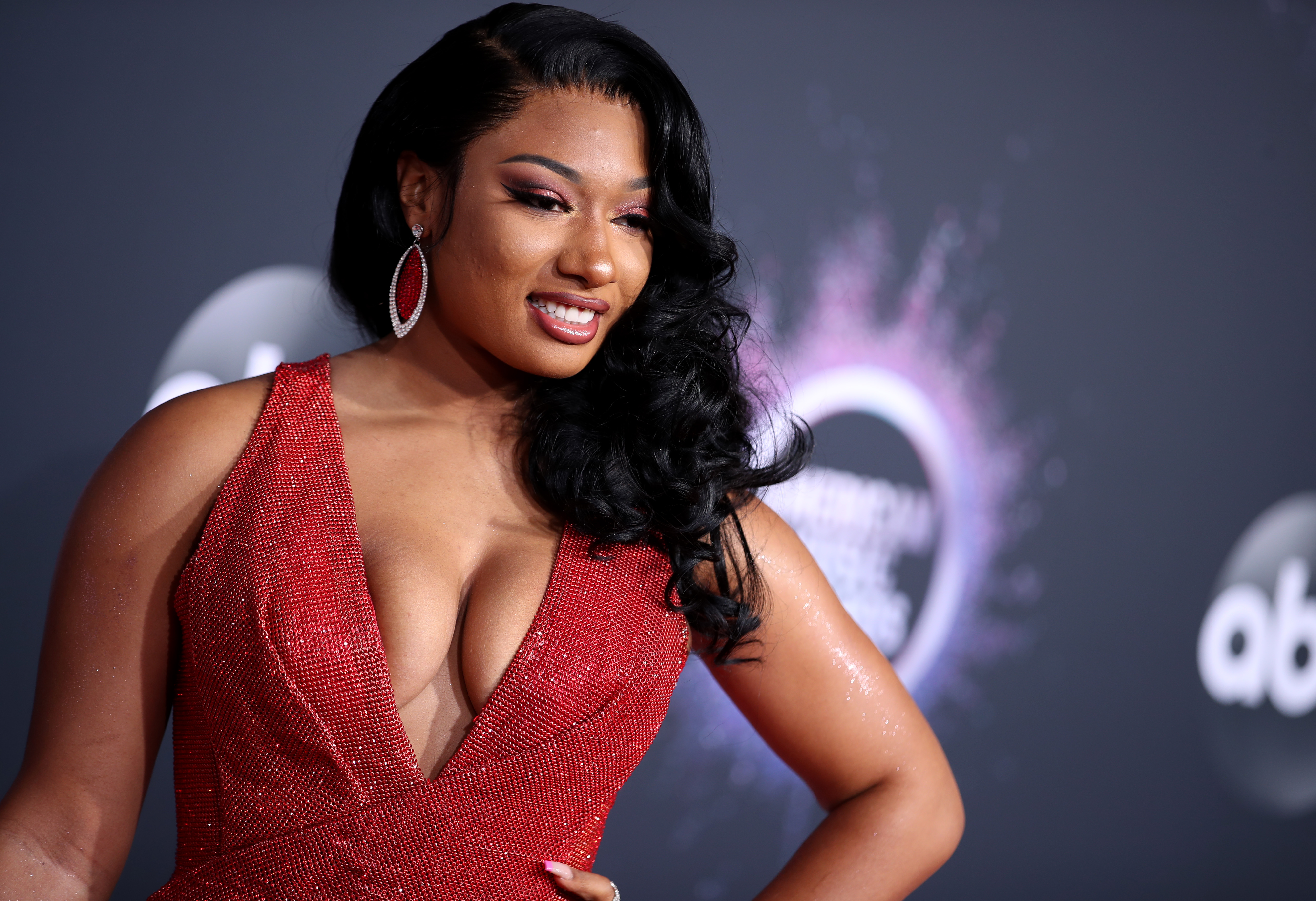 Megan Thee Stallion attends the 2019 American Music Awards on Nov. 24, 2019 in Los Angeles, California.