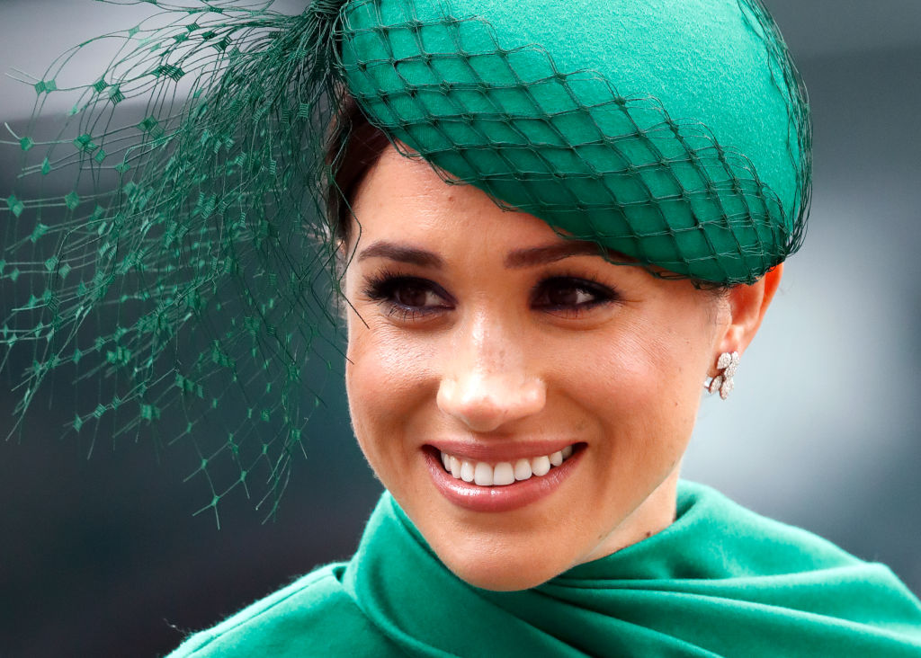 Meghan, Duchess of Sussex attends the Commonwealth Day Service at Westminster Abbey in London, England on March 9, 2020.