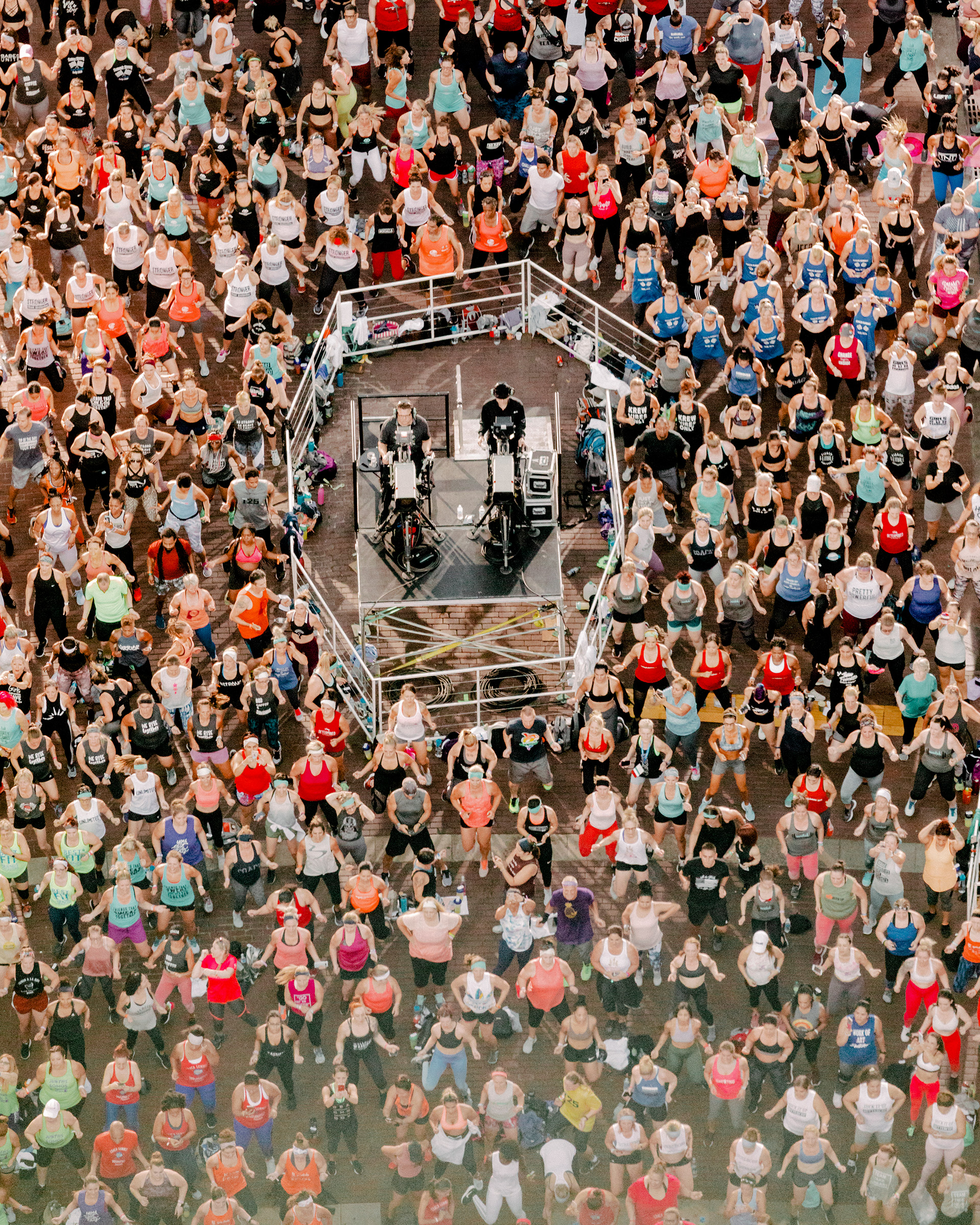 The Beachbody summit in 2019 drew thousands hoping to earn money selling the company's products and fitness routines