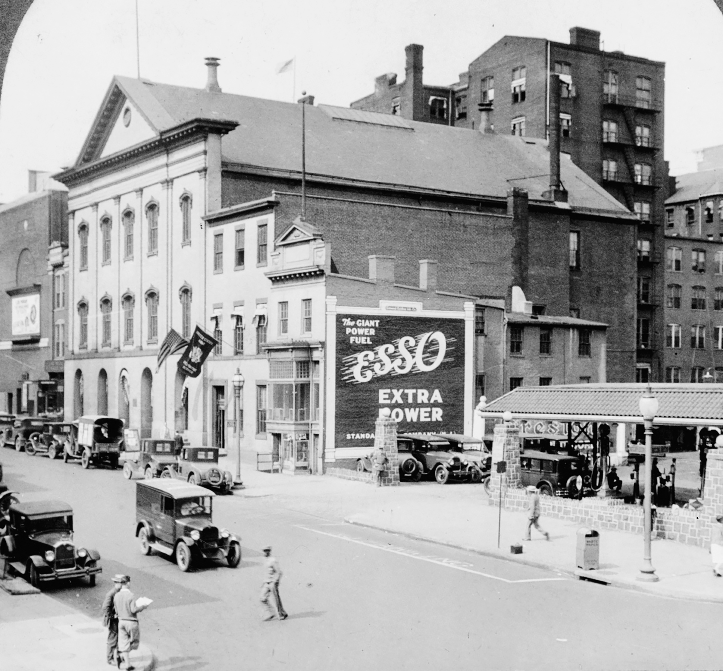 Ford's Theatre in Washington, D.C., seen in the 1920s
