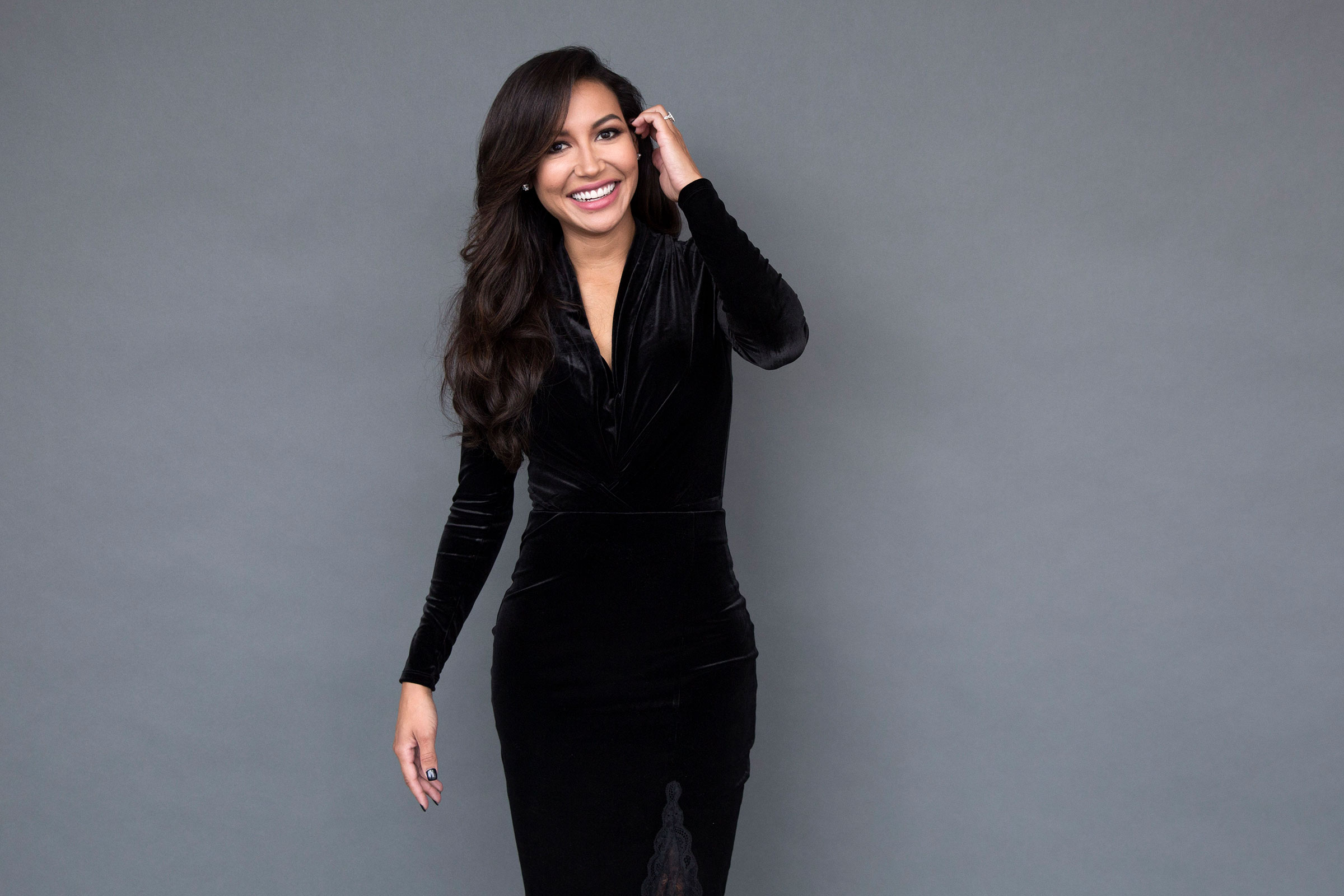Naya Rivera poses for a portrait in New York on Aug. 31, 2016.
