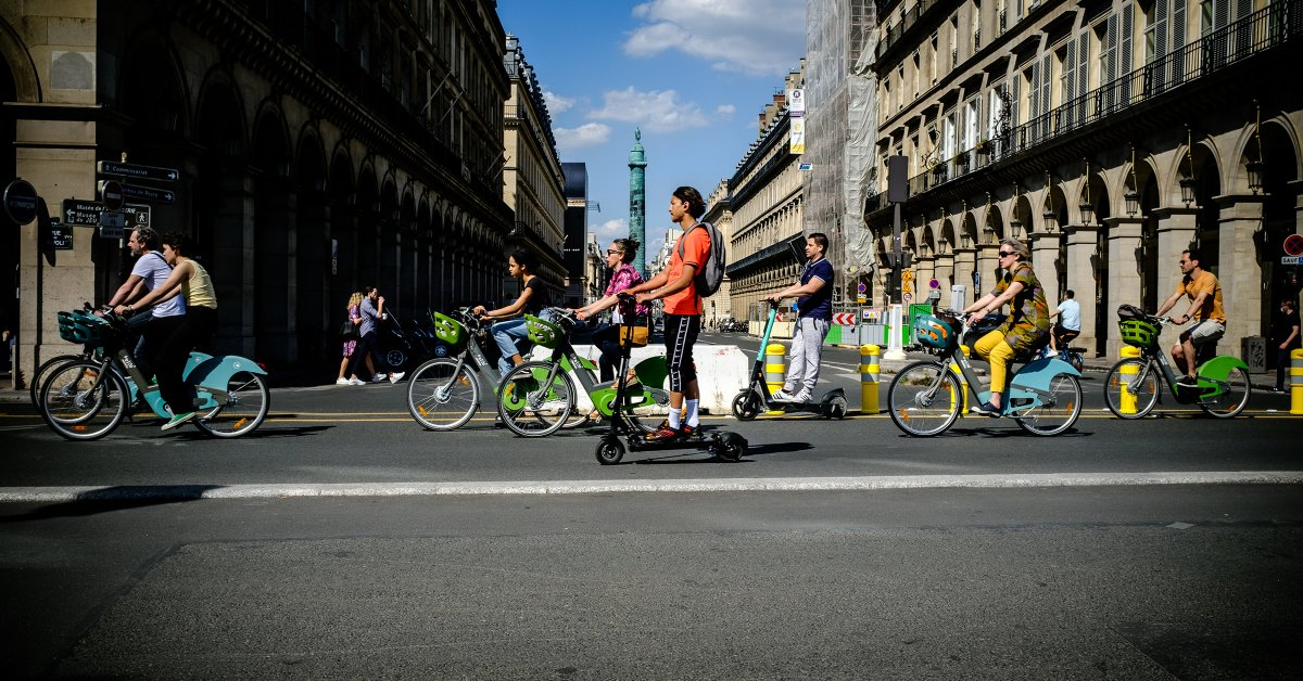 How Covid 19 Showed Paris The Potential Of A Greener City Time