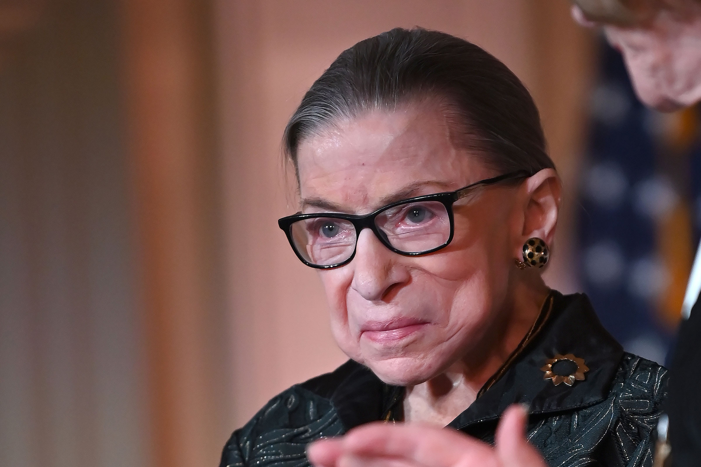 Supreme Court Justice Ruth Bader Ginsburg at The Library of Congress on Feb. 14, 2020 in Washington, DC.