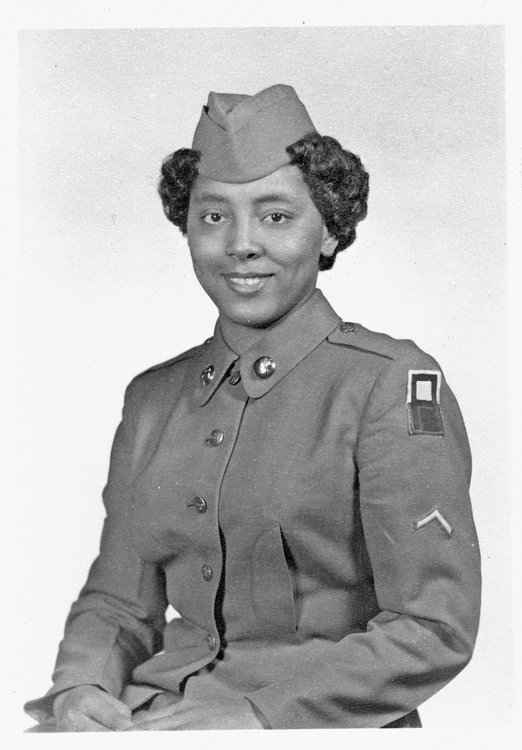 Private Sarah Keys, circa 1952.