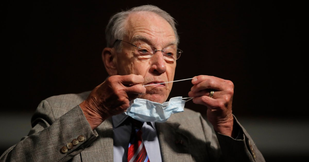 Sen. Chuck Grassley Will Miss GOP Convention for First Time in 40 Years Over Coronavirus Concerns