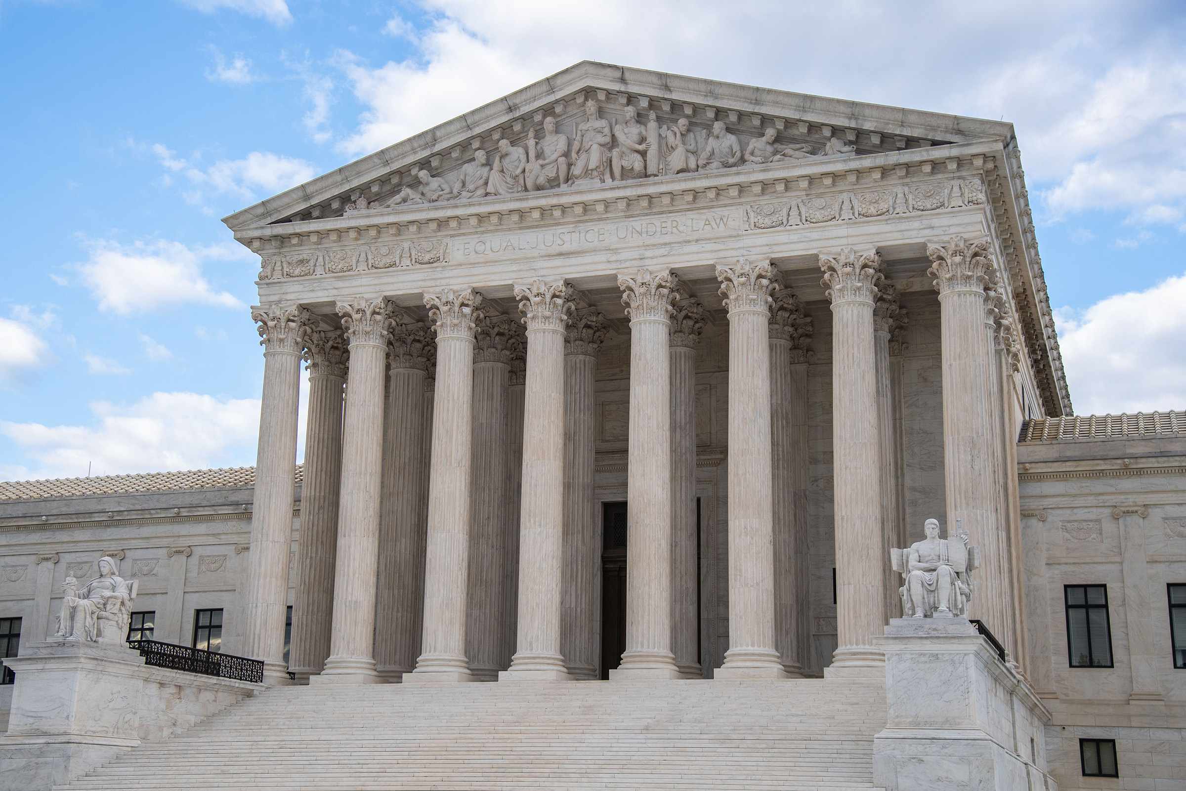 The Supreme Court in Washington, DC on July 11, 2020.