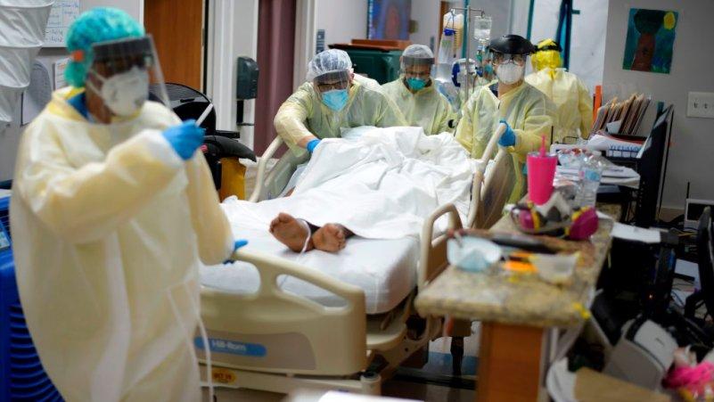 Hospitals Near Capacity