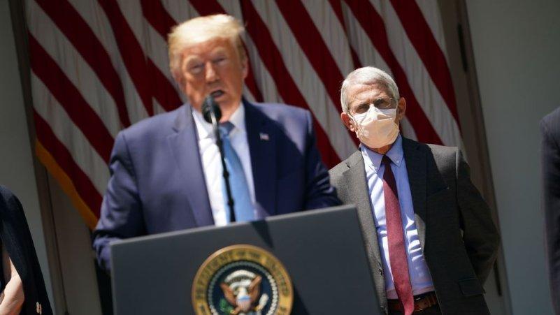 Trump Targets Fauci