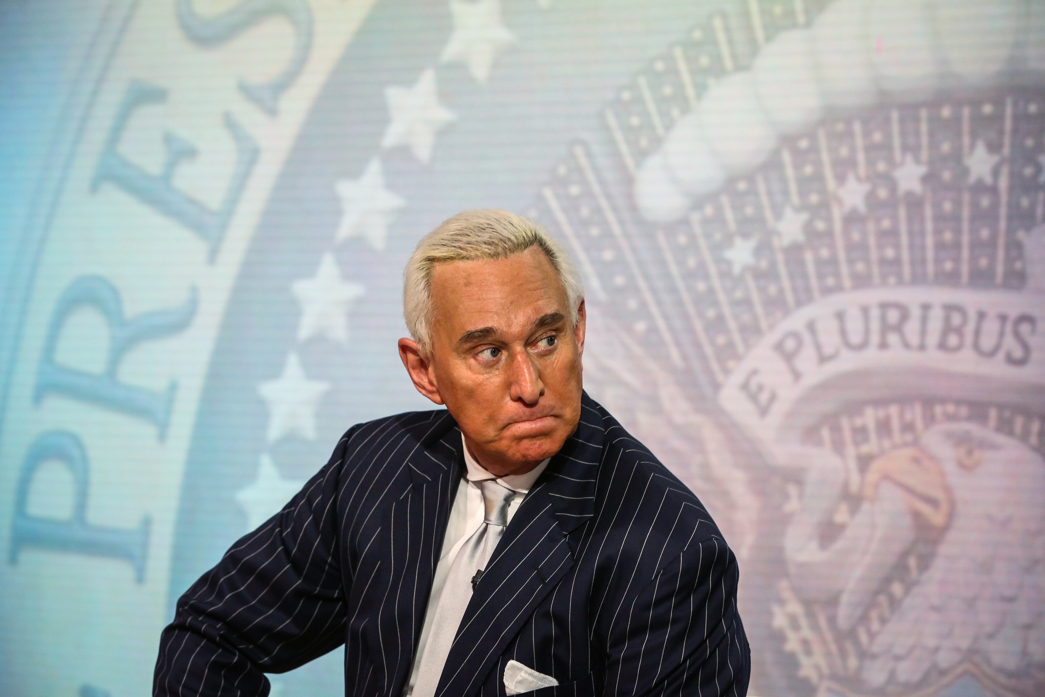 Roger Stone, former adviser to Donald Trump's presidential campaign, in New York on May 12, 2017.