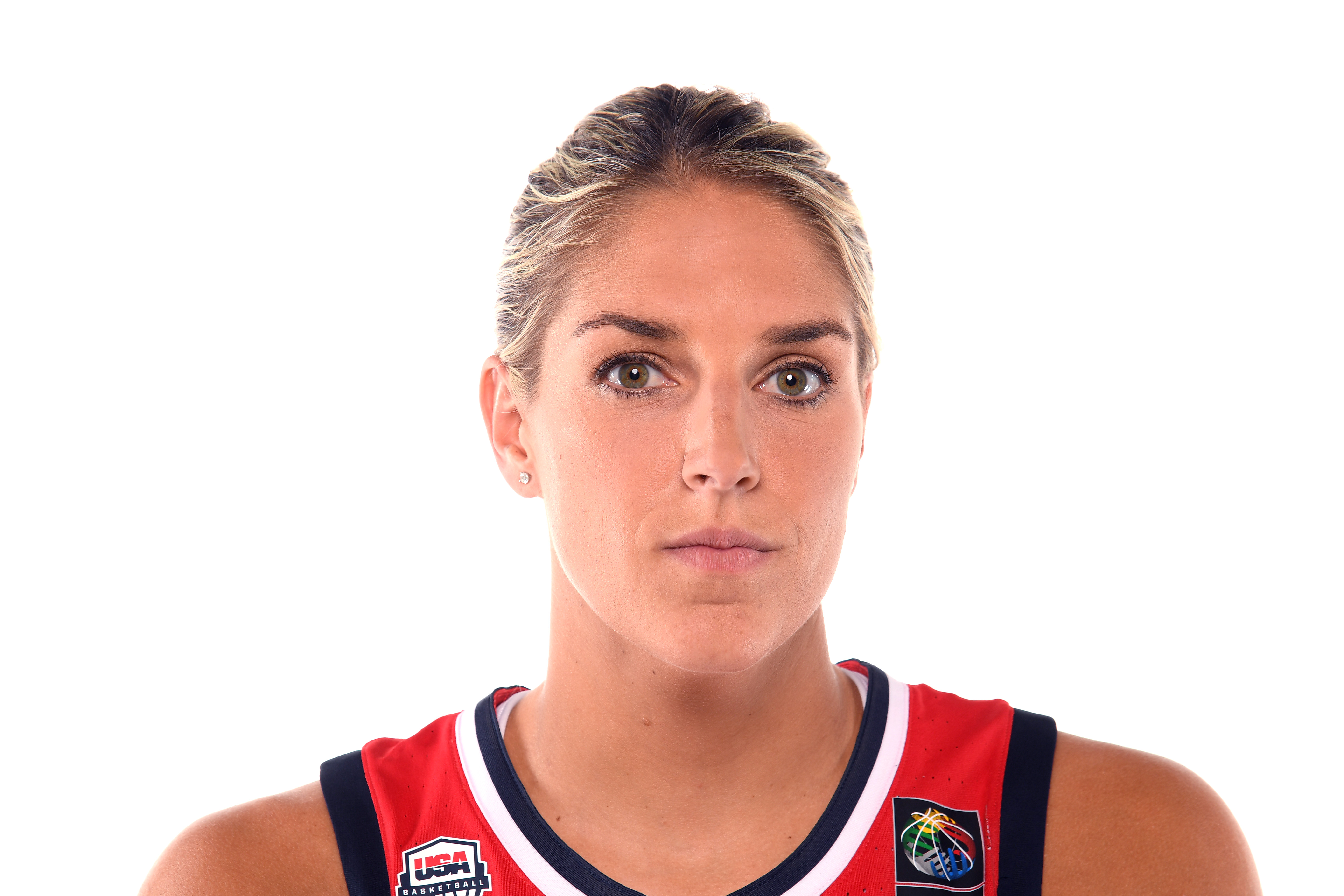 Basketball player Elena Delle Donne poses for a portrait during the Team USA Tokyo 2020 Olympics shoot on November 21, 2019 in West Hollywood, California.