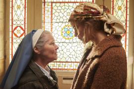 Imelda Staunton and carla Juri in 'Amulet'