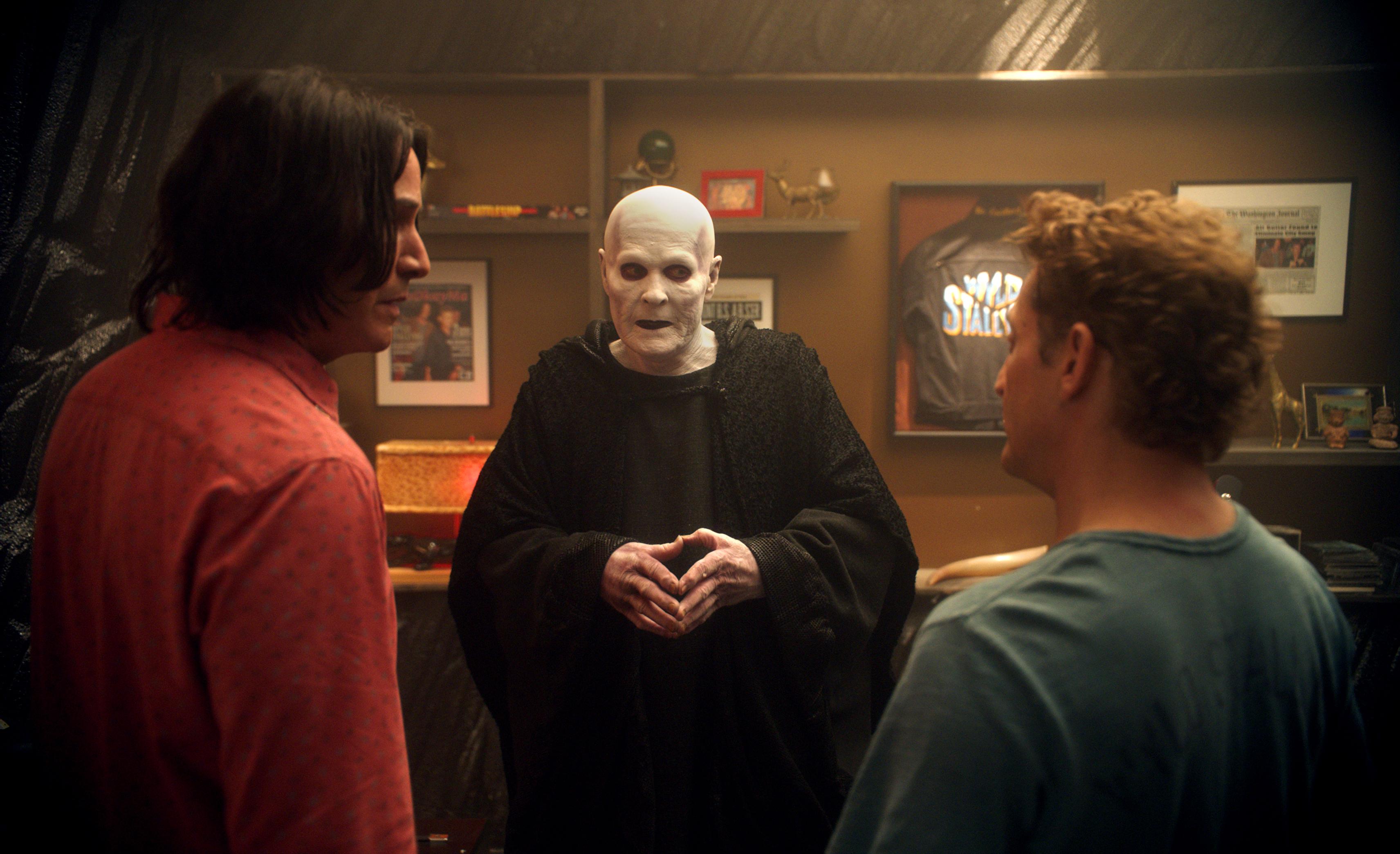 William Sadler plays Death.