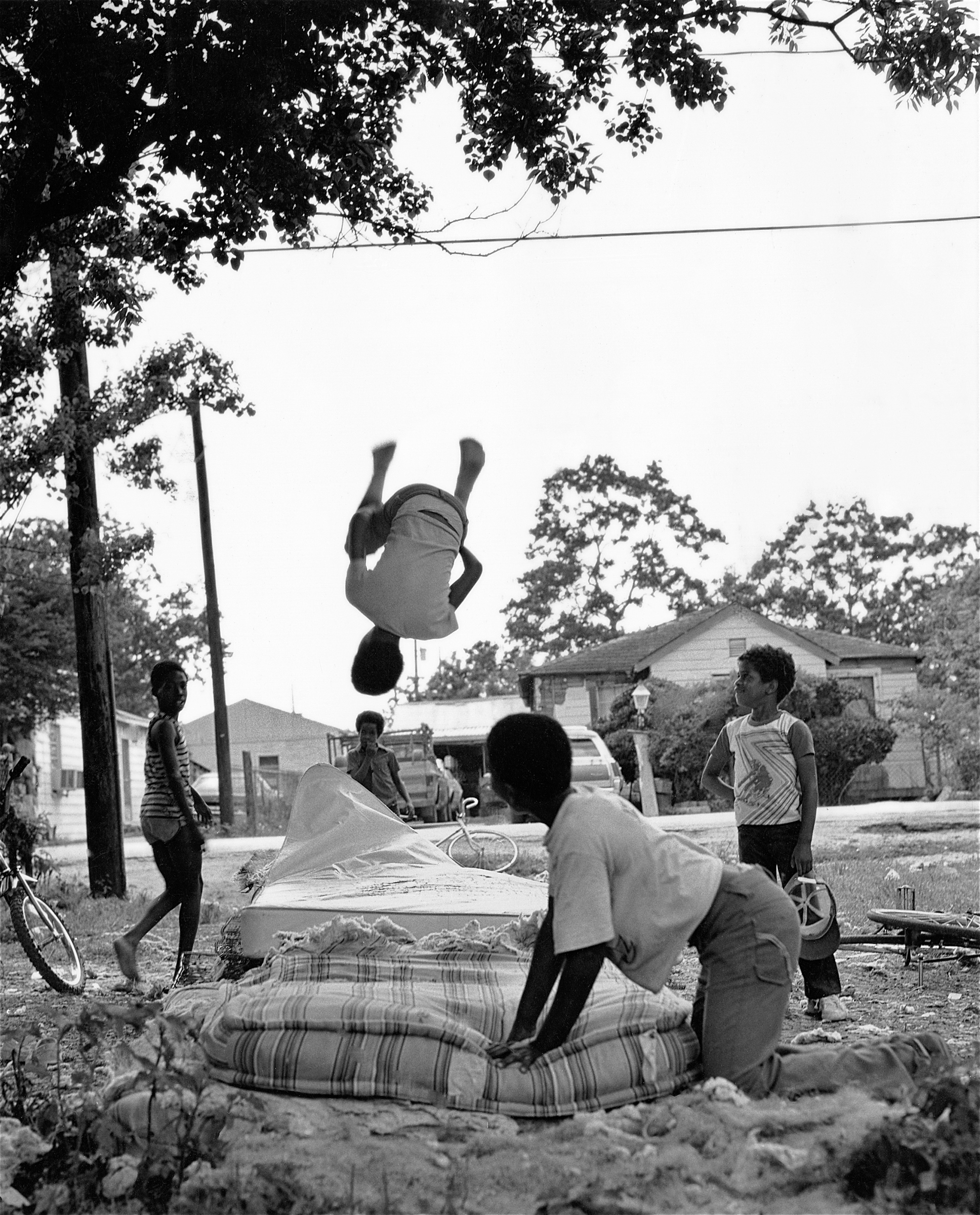 """Bouncing Boys (1981). """"The yard becomes an extension of the house when it's hot out,"""" Earlie says. """"In the inner city, people learn how to improvise to live and survive."""""""
