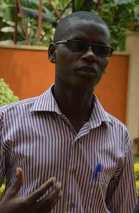 Reporter Jean Bigirimana is feared to be dead after four years missing.