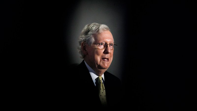 McConnell Faces Risks in Replacement for Ginsburg
