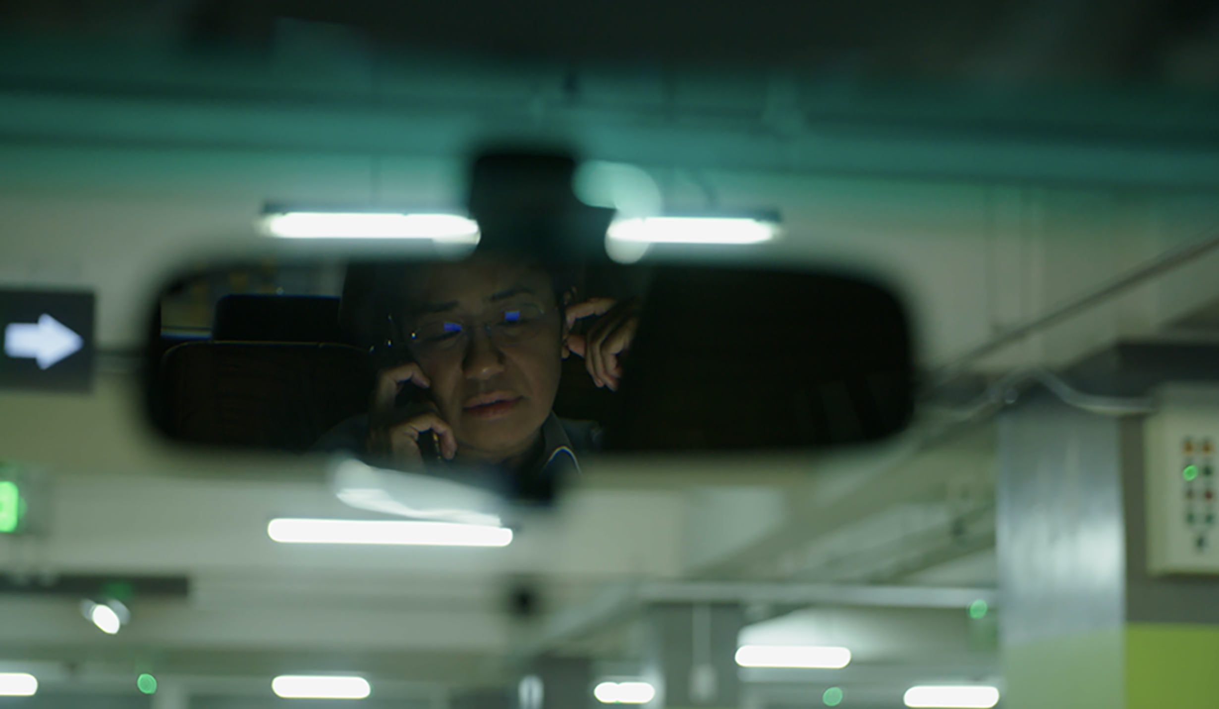 Maria Ressa, chief executive officer of Rappler and a TIME Person of the Year 2018, in a still from 'A Thousand Cuts'