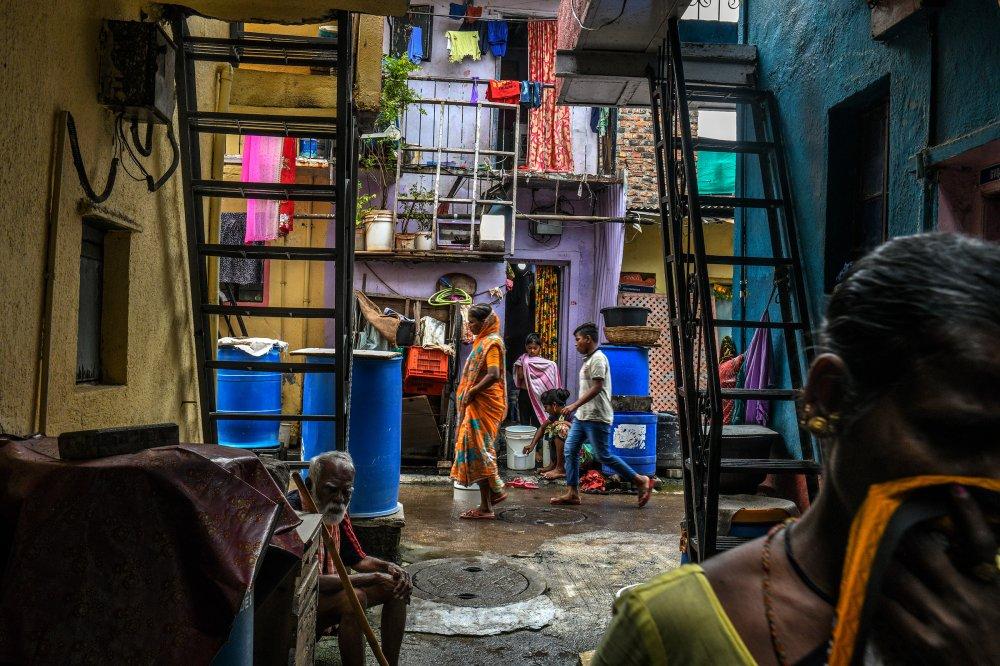 The Tadiwala Chawl area of Pune emerged as a COVID-19 hotspot.