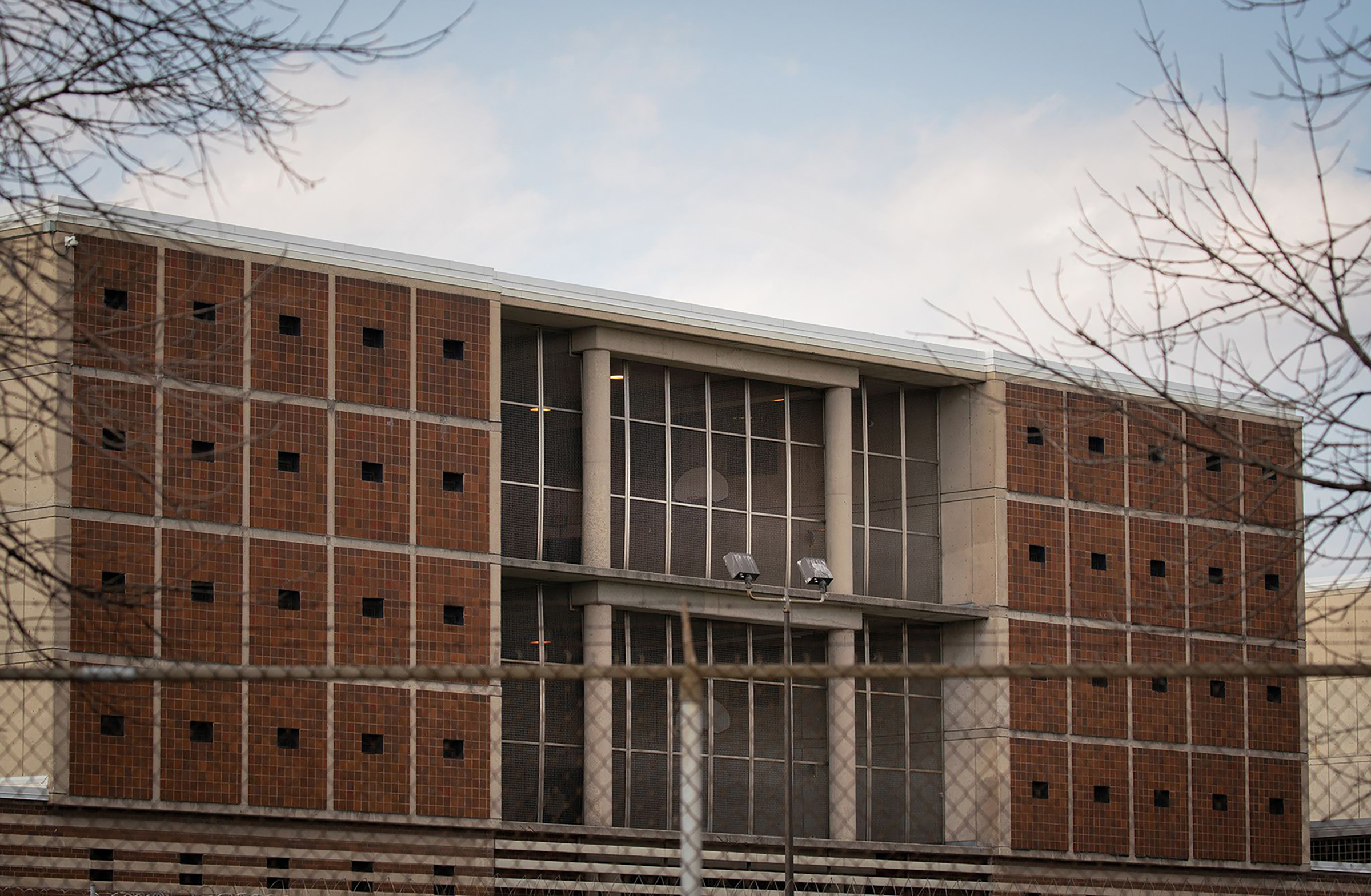 Cook County Jail on April 7