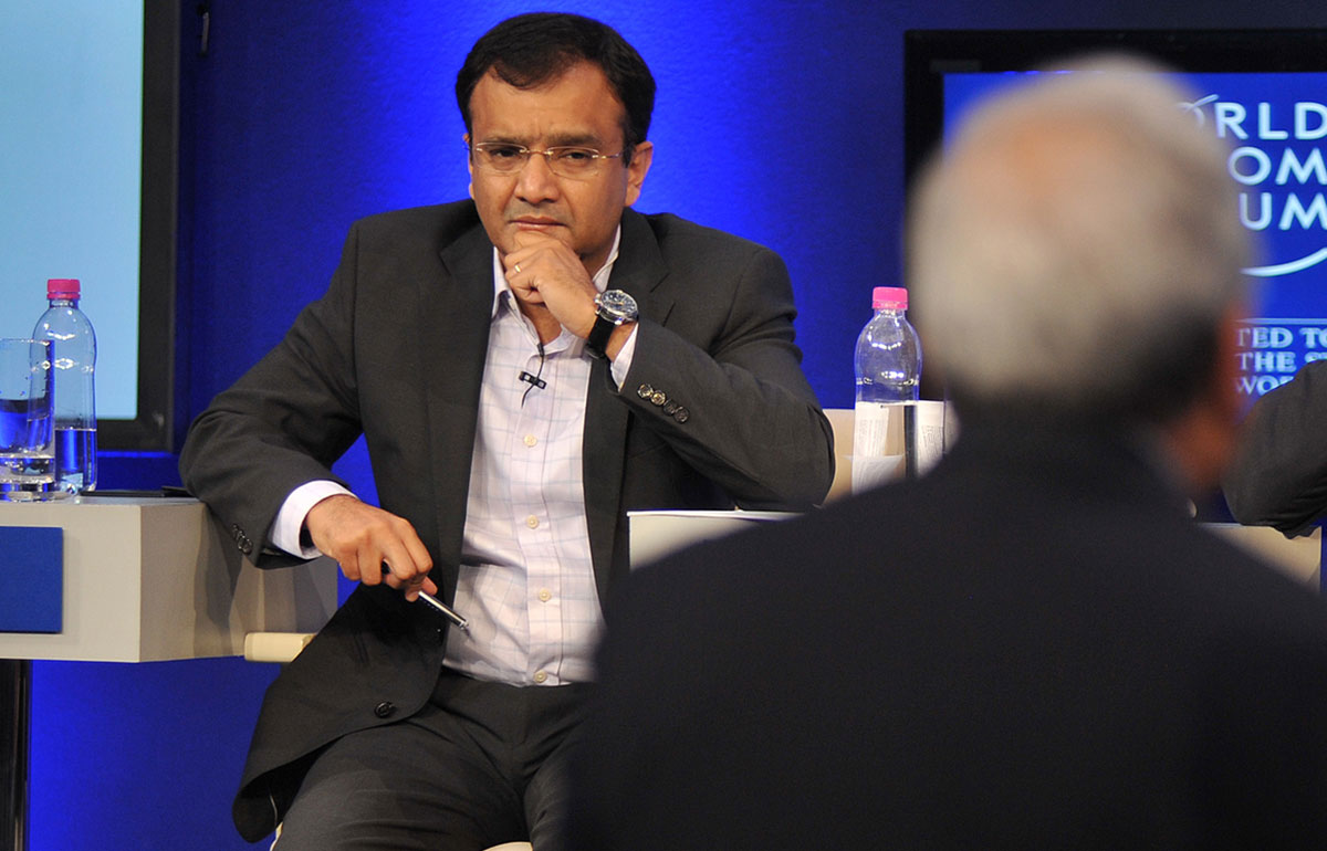 Shivnath Thukral at the Moving to Better Ground session during the India Economic Summit in Mumbai, November, 2011.