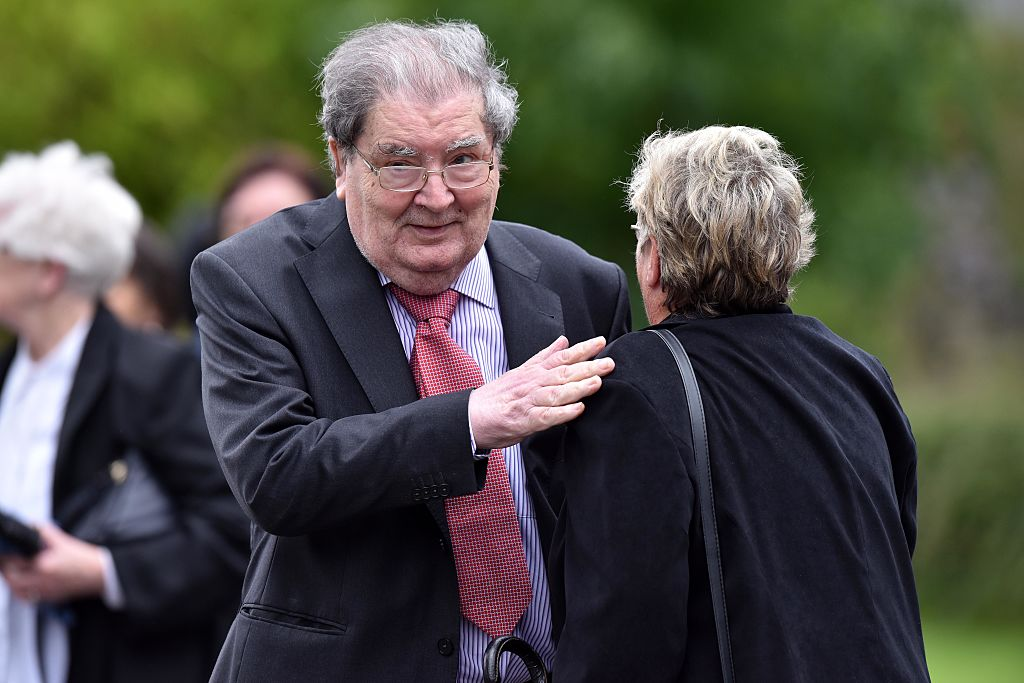 John Hume is pictured on August 11, 2016 in Londonderry, Northern Ireland.
