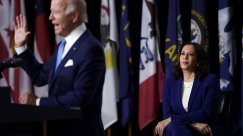 Harris' First Biden Event Shows How Politics Has Changed
