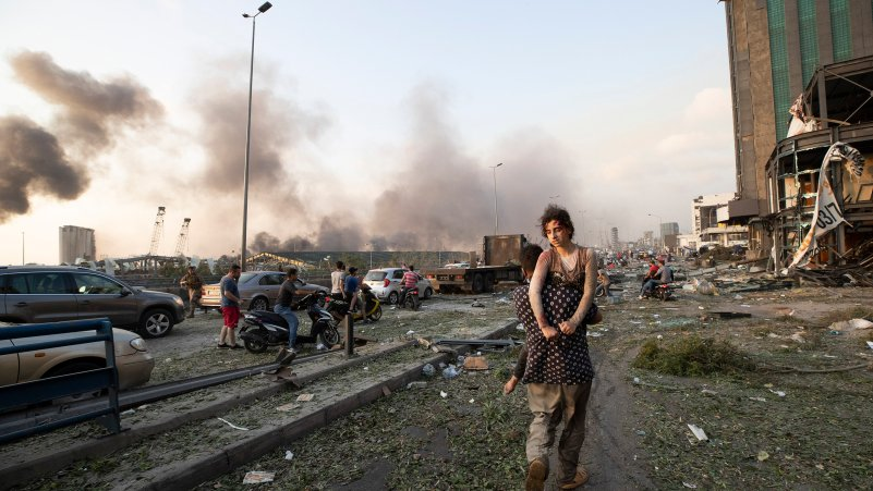Photos From a Reeling Beirut