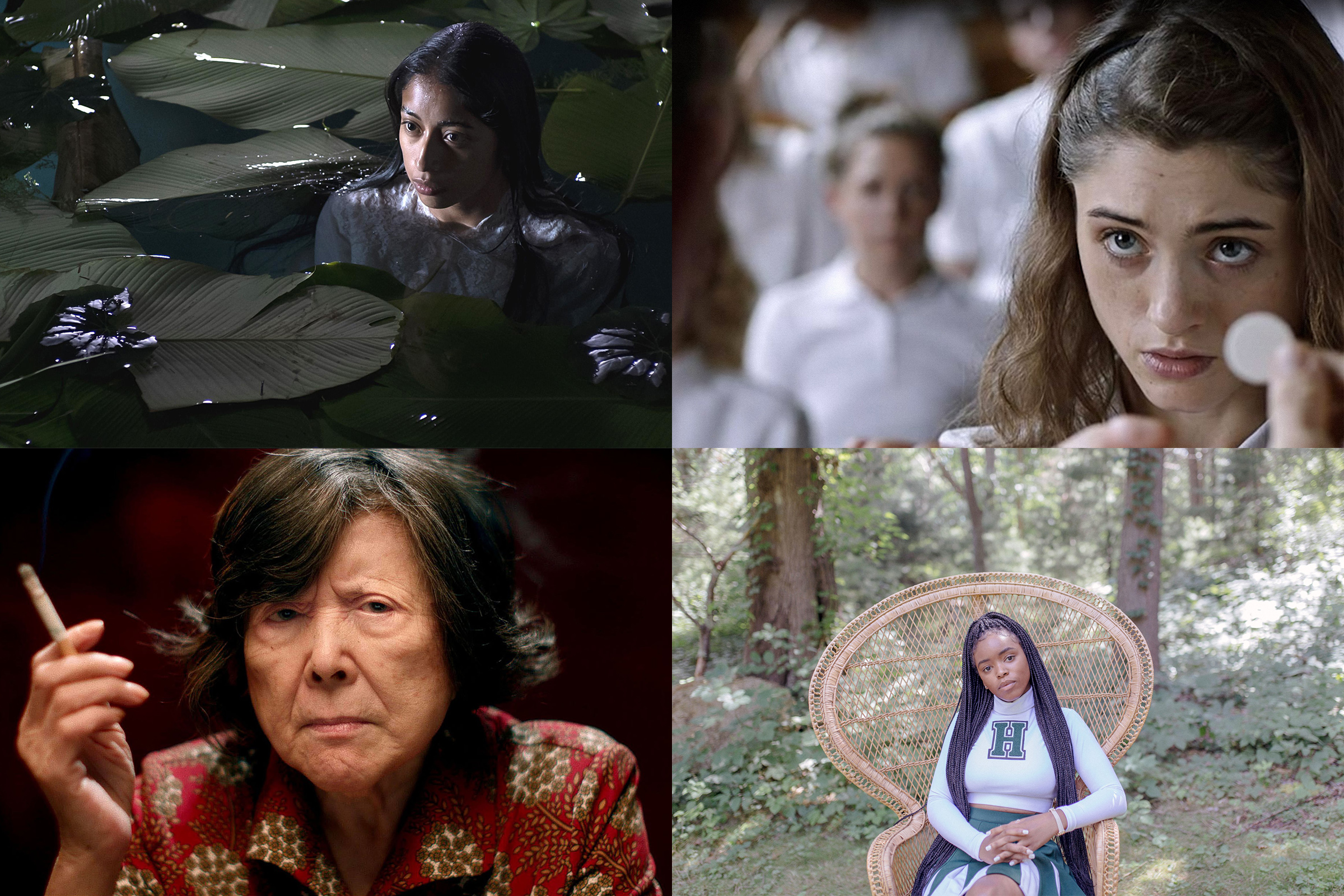 Maria Mercedes Coroy in La llorona; Natalia Dyer in Yes, God, Yes; Tsai Chin in Lucky Grandma; Lovie Simone in Selah and the Spades