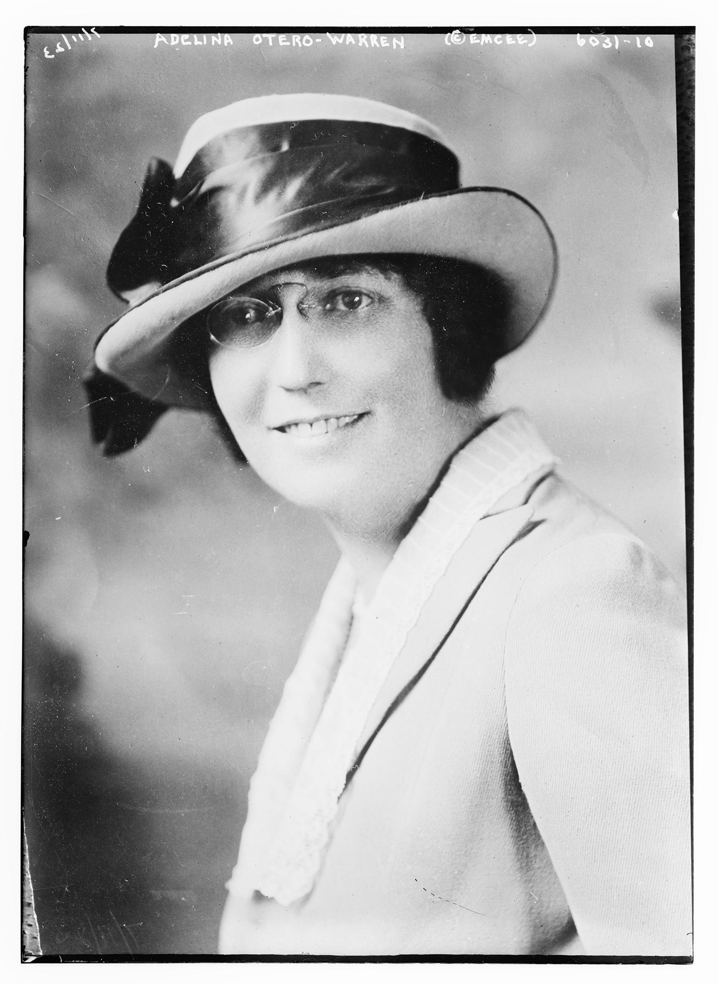 A 1923 photo of New Mexico suffragist Nina Otero-Warren, who lobbied her state's legislators to ratify the 19th Amendment.