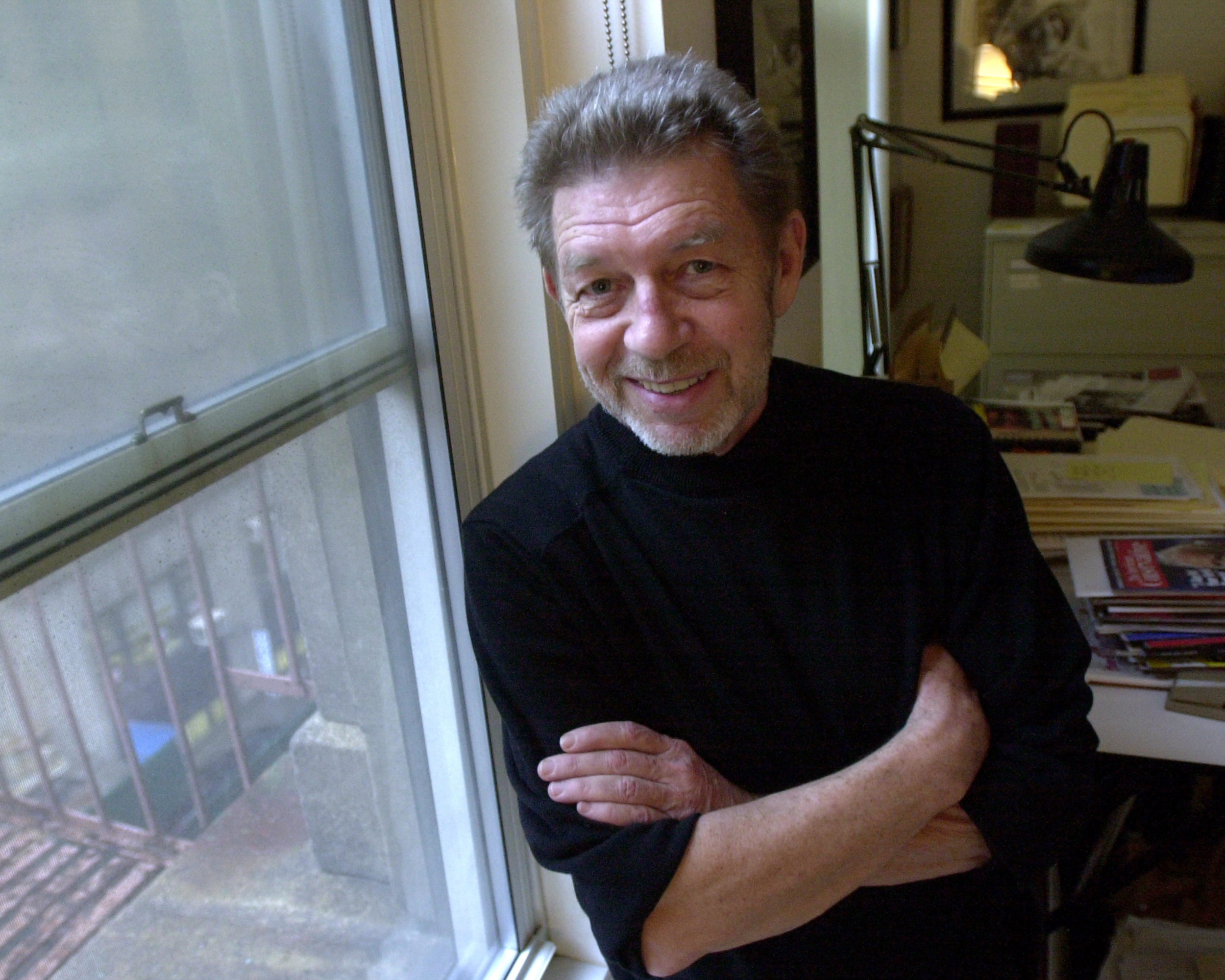 Daily News columnist and best-selling author Pete Hamill