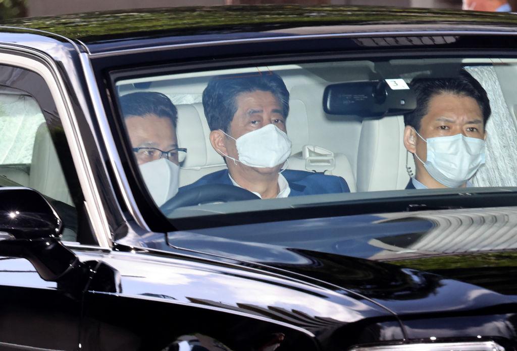 Japan's Shinzo Abe Returns to Hospital Amid Health Concerns   Time