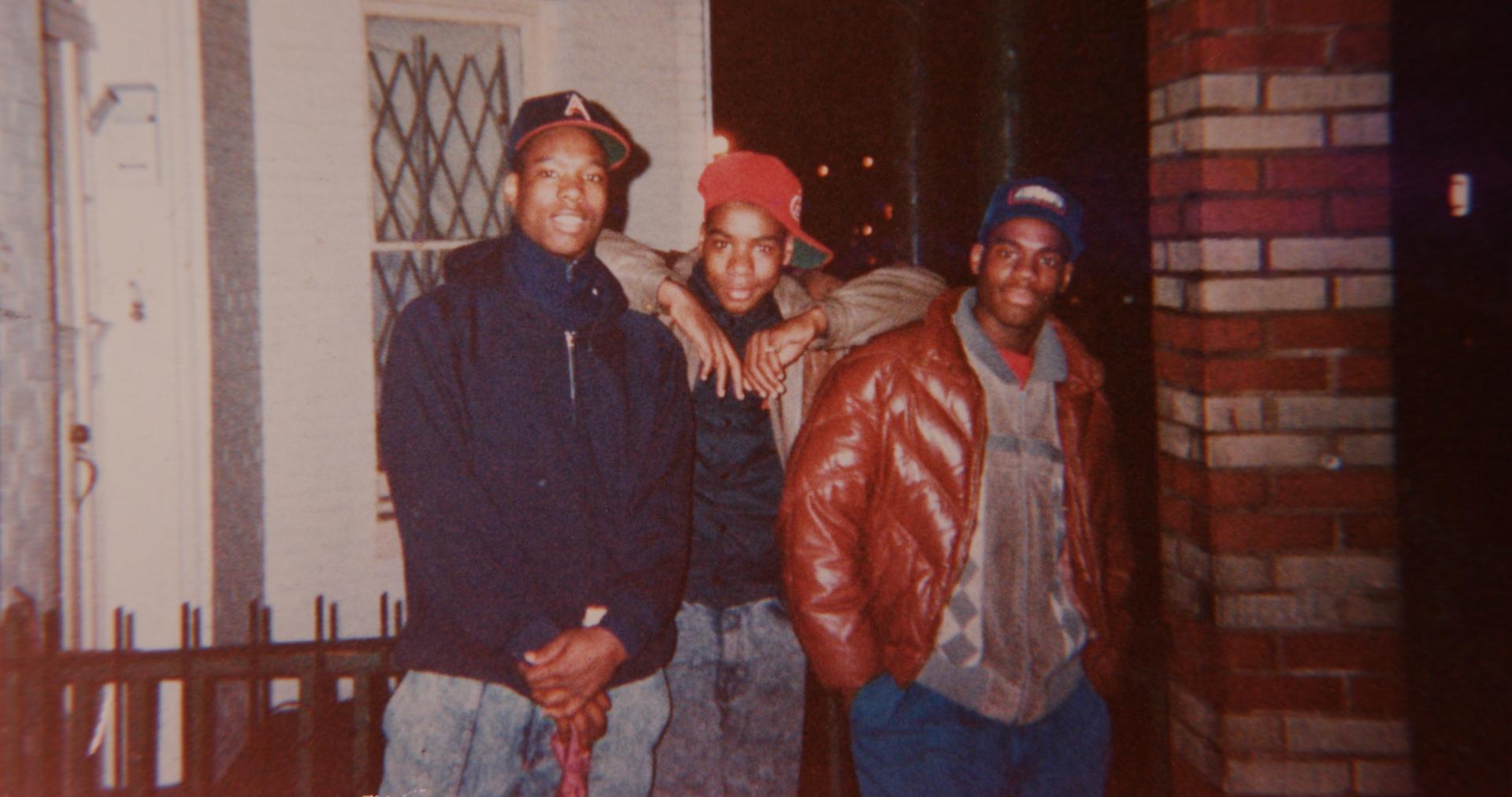Yusuf Hawkins, Amir Hawkins and Freddy Hawkins