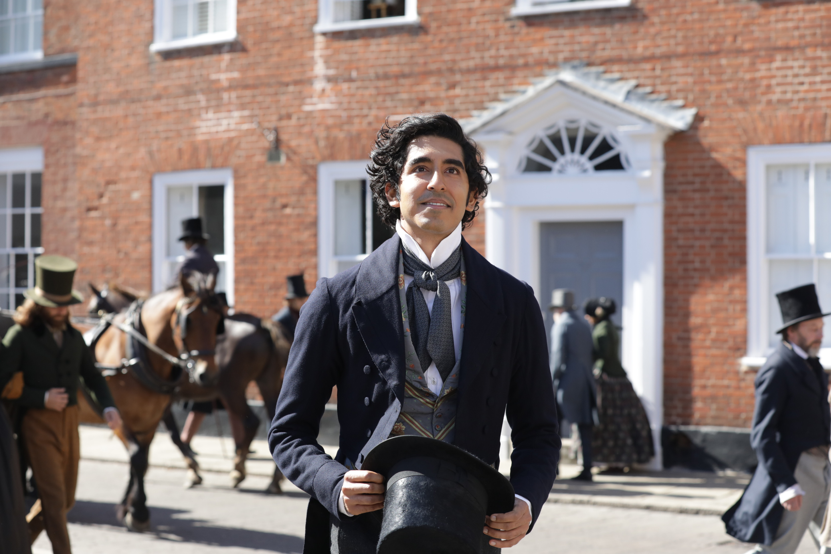 Dev Patel in 'The Personal History of David Copperfield'