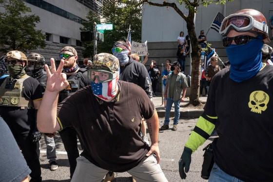 George Floyd protests rock Portland, Oregon.