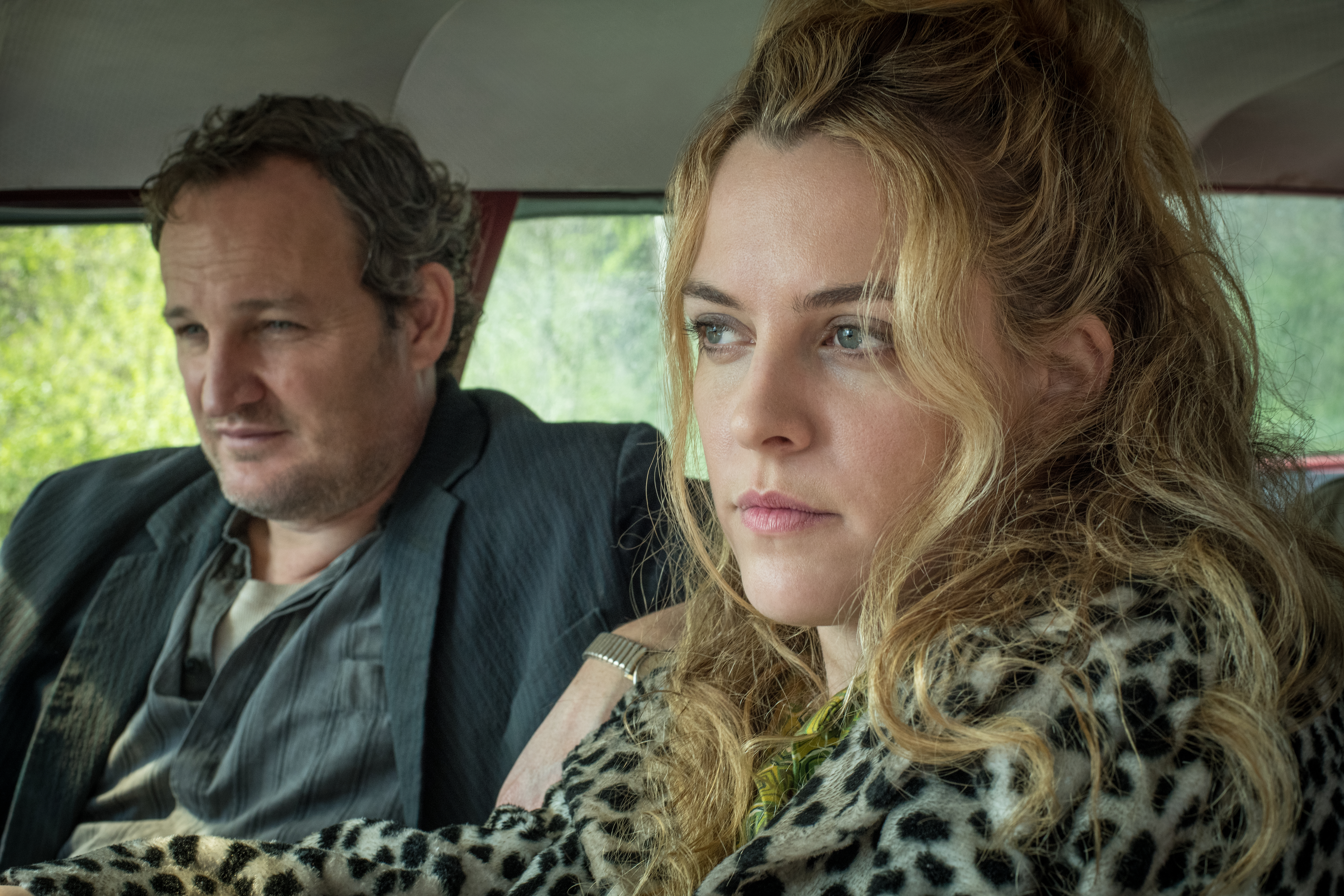 Jason Clarke and Riley Keough