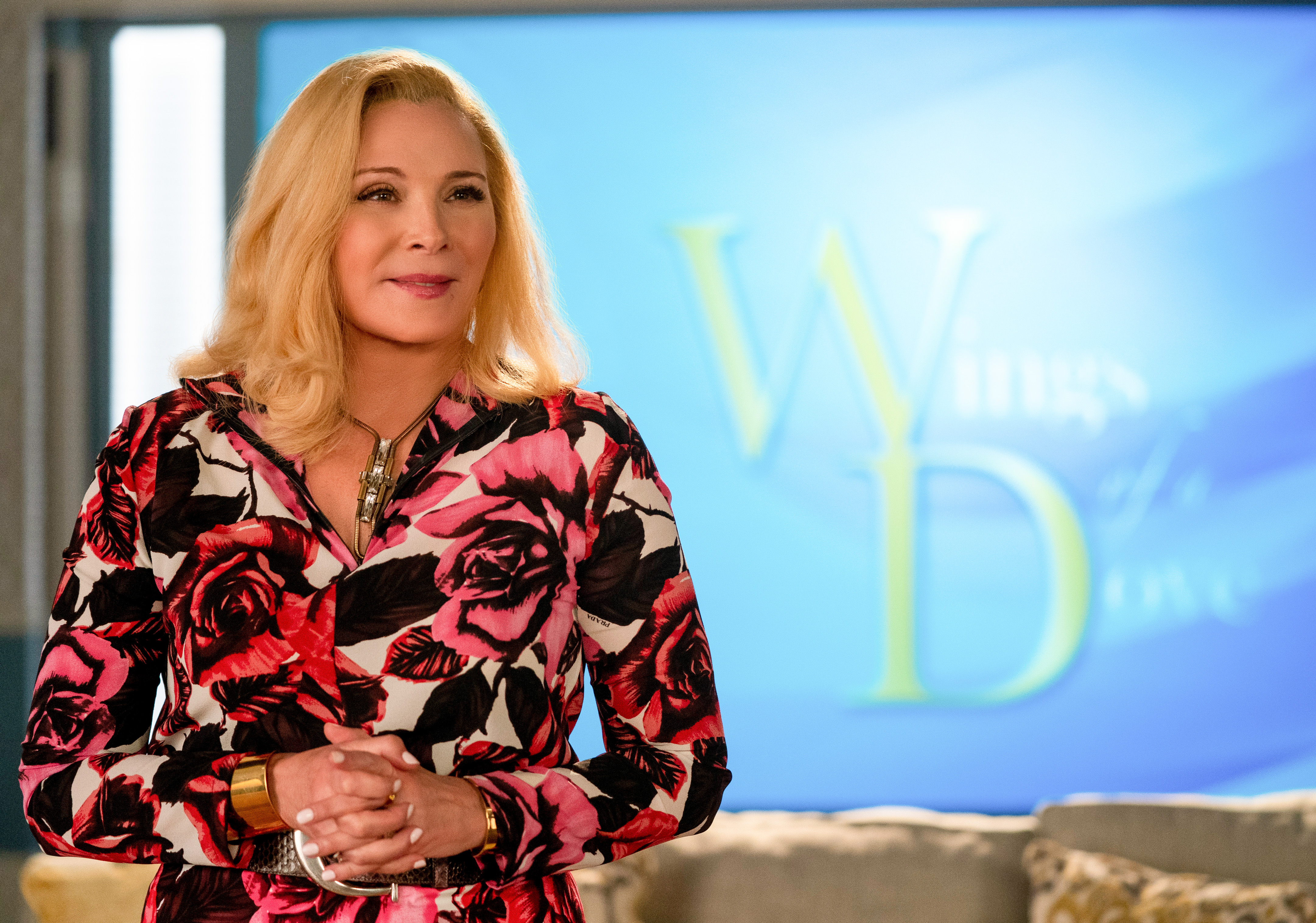 Kim Cattrall in 'Filthy Rich'