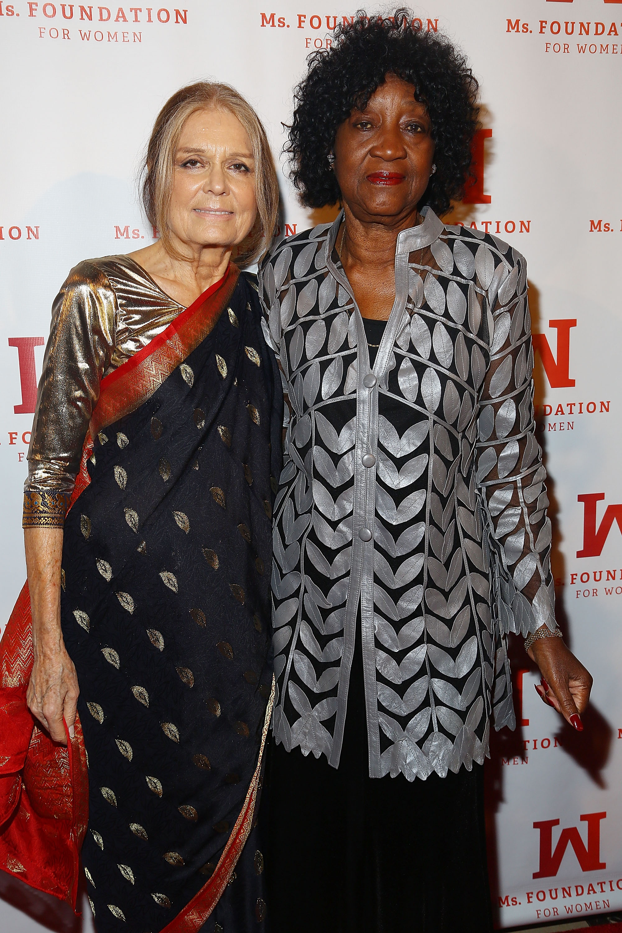 NEW YORK, NY - MAY 01: (L-R) Gloria Steinem and Dorothy Pitman Hughes attend the Ms. Foundation Women Of Vision Gala 2014 on May 1, 2014 in New York City. (Photo by Astrid Stawiarz/Getty Images for Ms. Foundation For Women)
