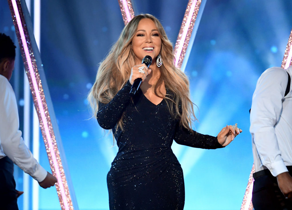 LAS VEGAS, NEVADA - MAY 1, 2019: Honoree Mariah Carey performs onstage during the 2019 Billboard Music Awards in Las Vegas, Nevada. (Photo by Kevin Winter/Getty Images for dcp)