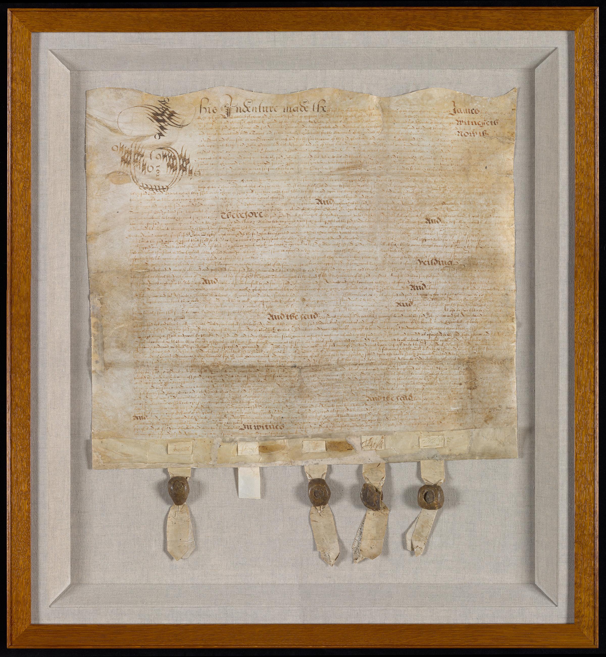 Second Peirce Patent, 1621
