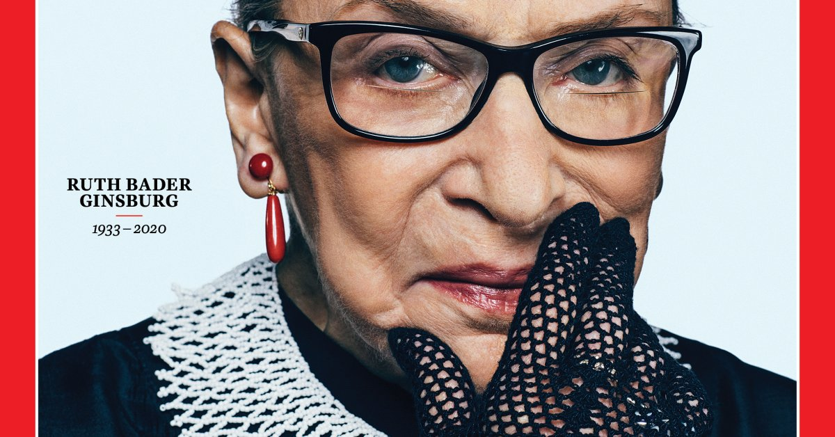 'She Knows She Has Left a Legacy.' The Story Behind TIME's Commemorative Ruth Bader Ginsburg Cover