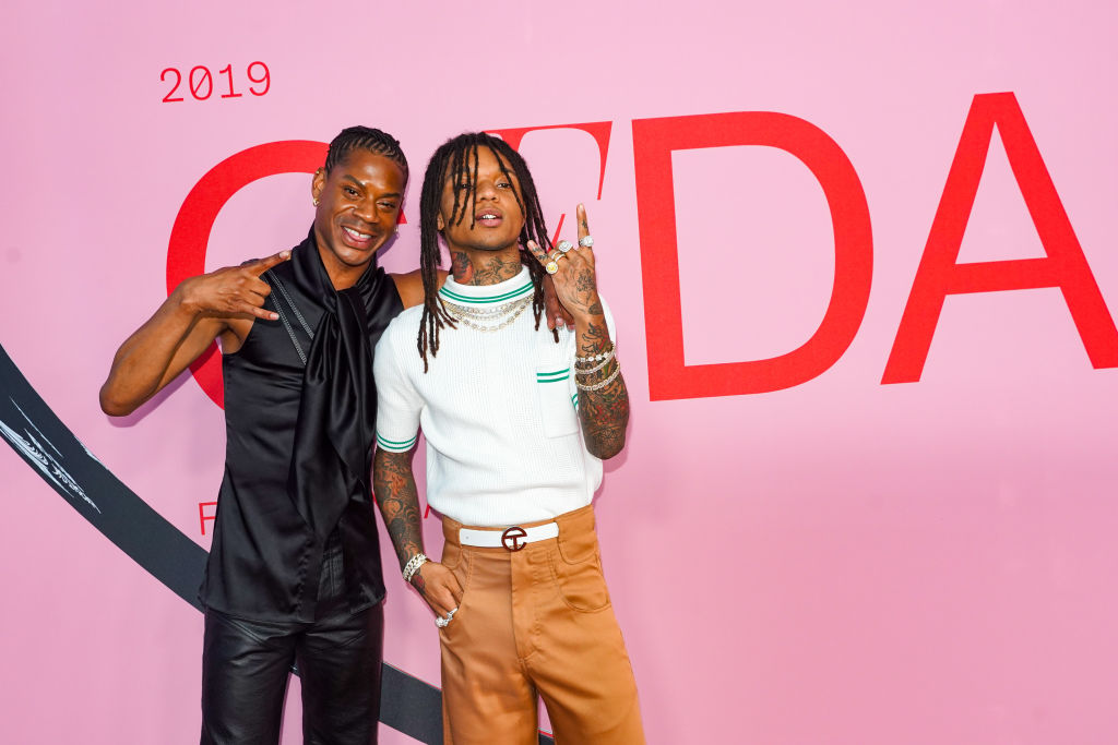 Telfar Clemens and Swae Lee attend last year's CFDA Fashion Awards on June 3, 2019.
