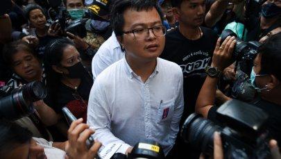 Pro-democracy Activists In Bangkok