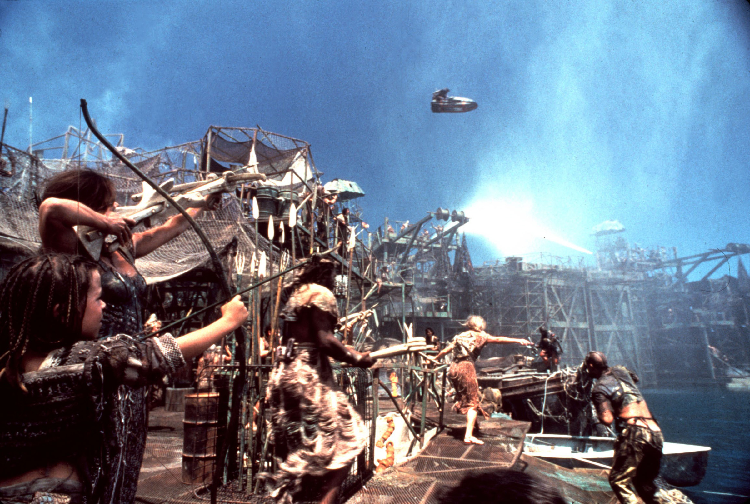A still from the 1995 film 'Waterworld'.