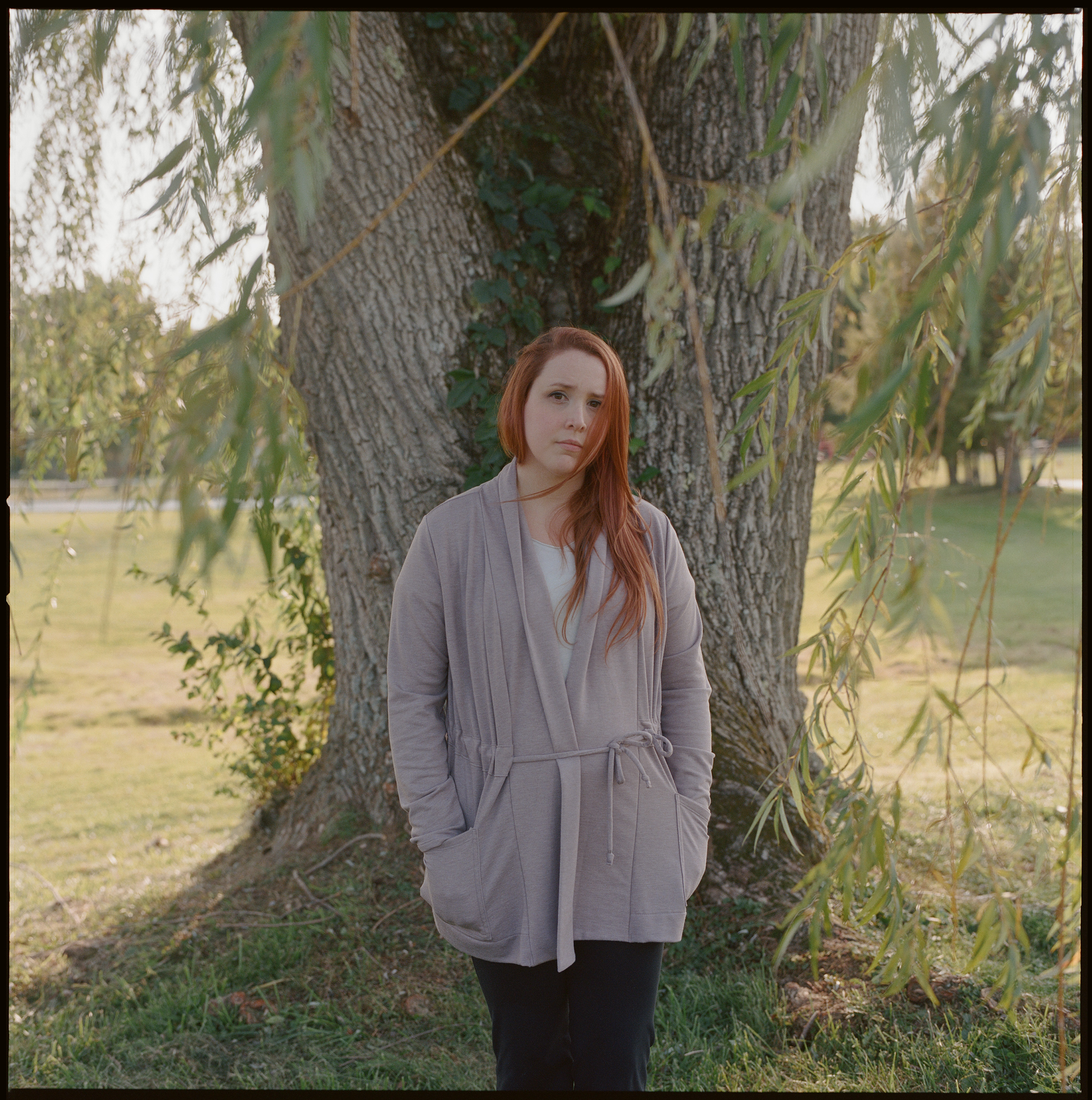 Dylan Farrow at a park in Bridgewater, Conn., on September 21