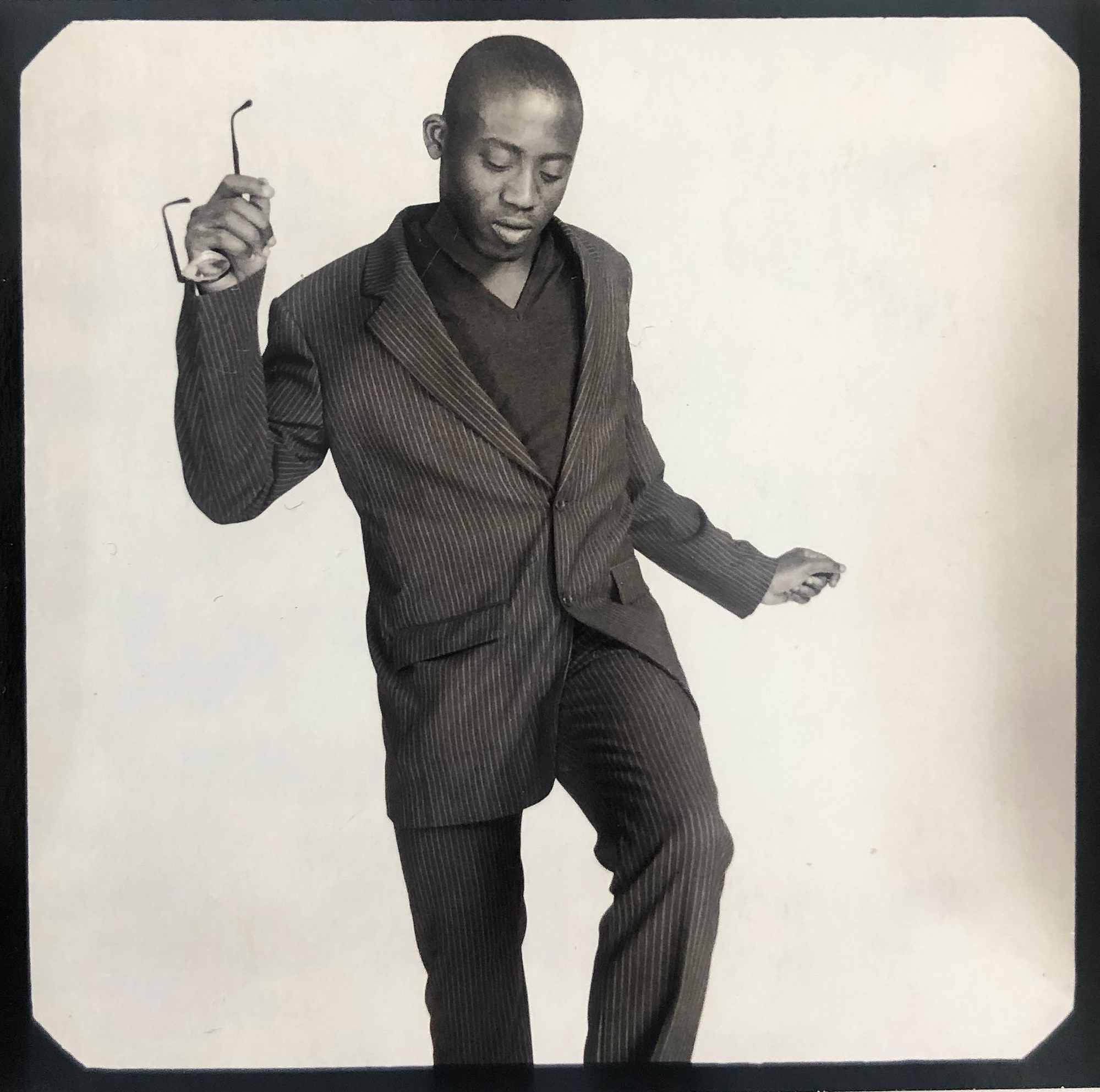A Polaroid of Enninful in the 1990s from his personal collection.
