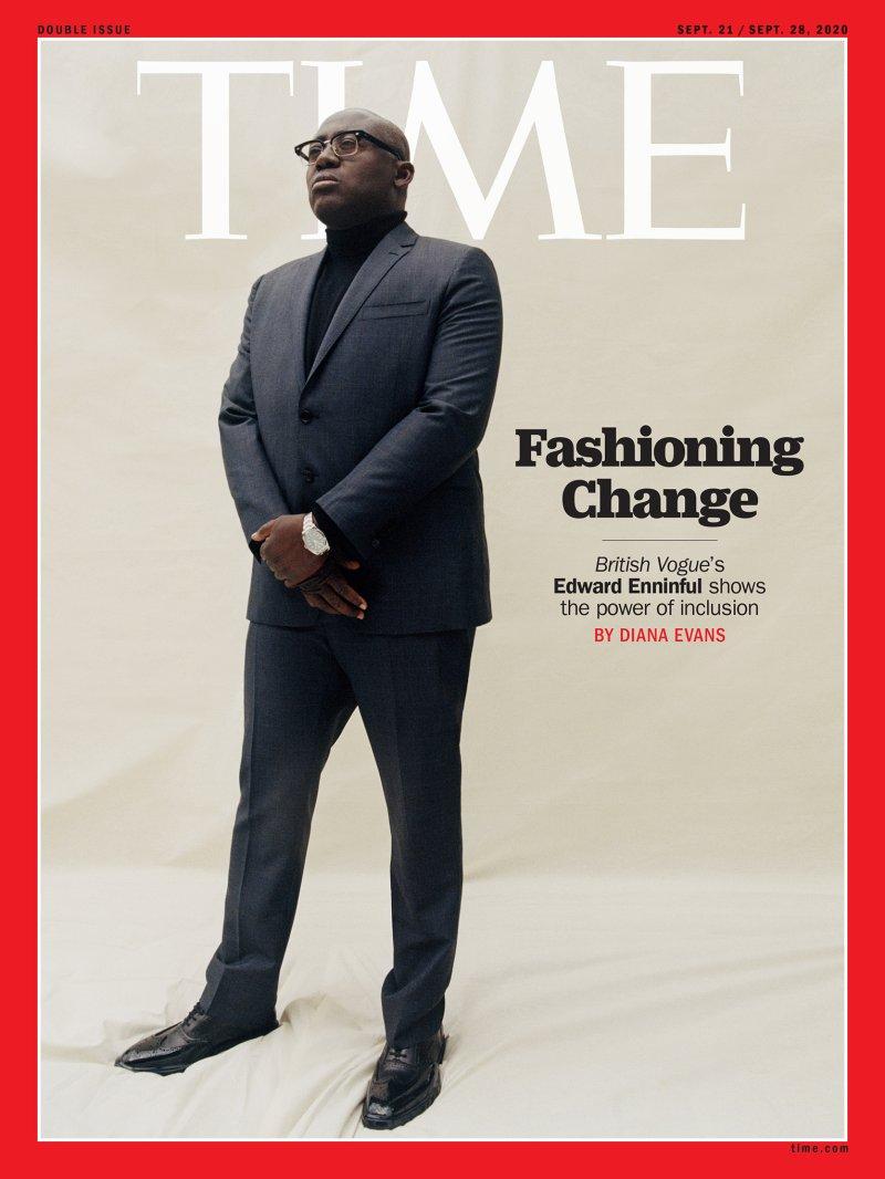 Time Magazine: Edward Enninful