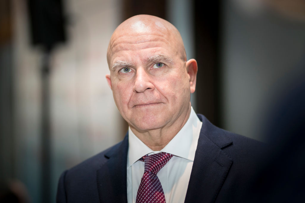 Former U.S. National Security Advisor H. R. McMaster is pictured during the Munich Security Conference on Feb. 17, 2018 in Munich, Germany.