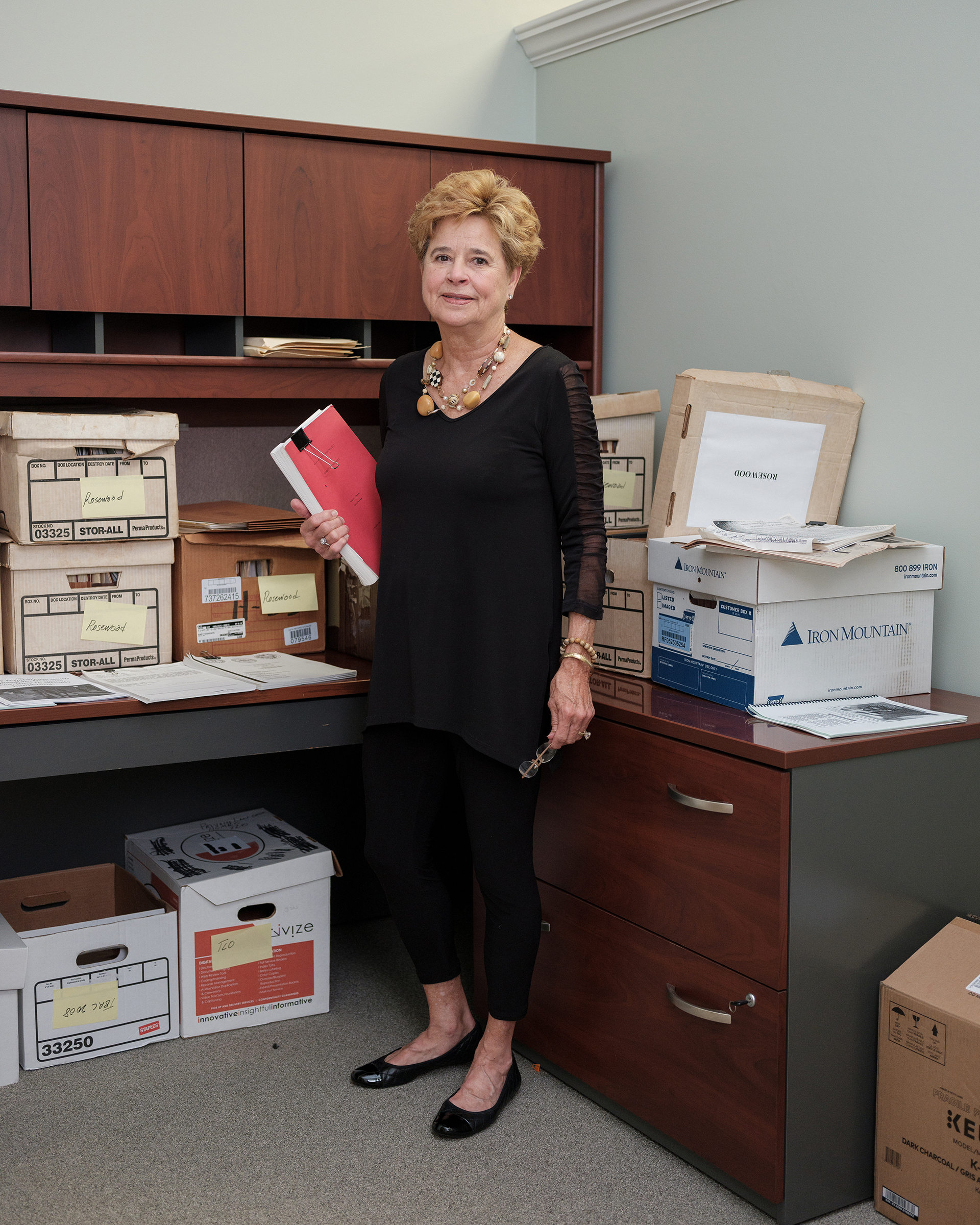Former Holland and Knight attorney Martha Barnett at her office in Tallahassee.