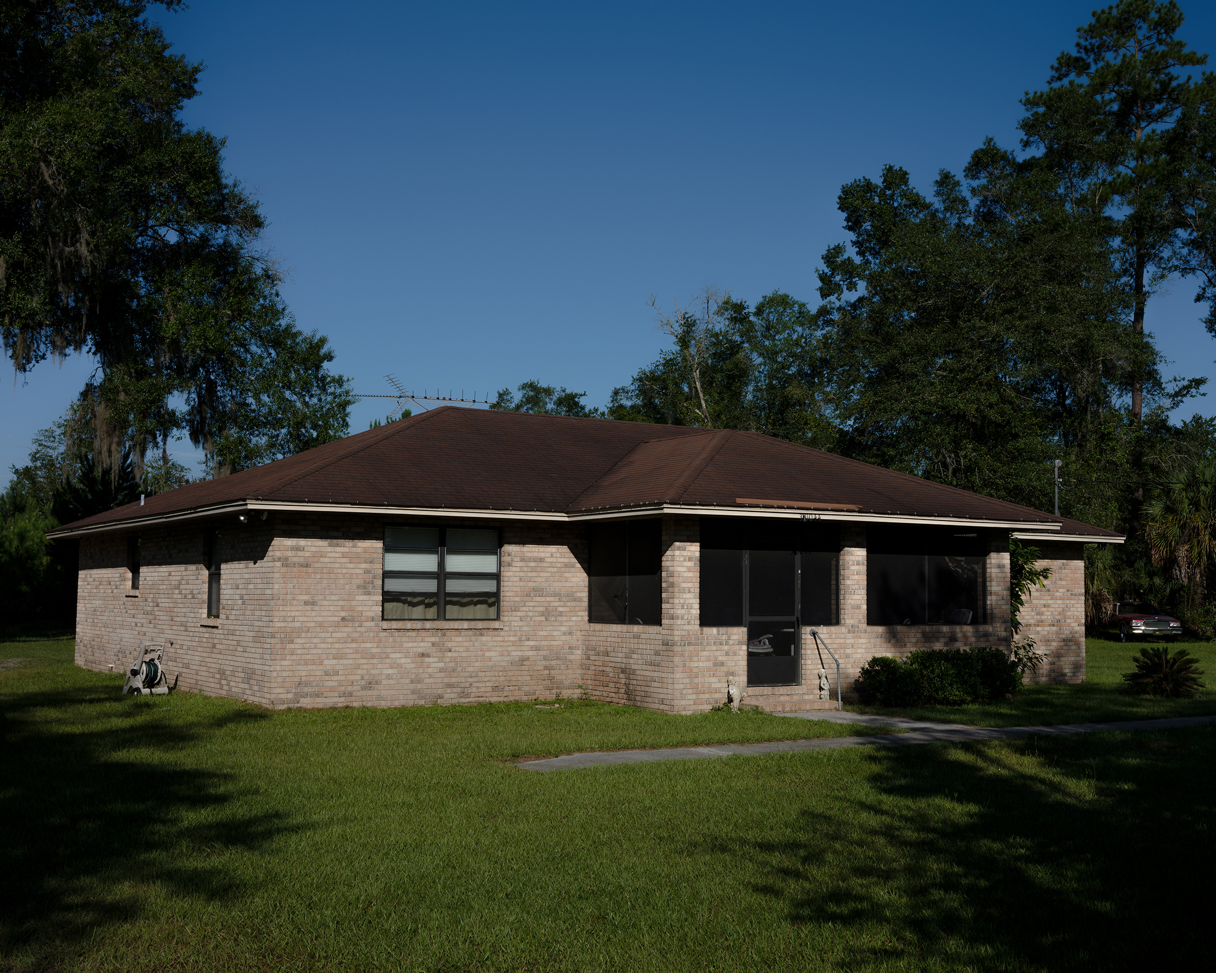 Mary Hall Daniels built a three-bedroom home in Hilliard, Fla., after receiving $150,000 from the state as a Rosewood survivor.