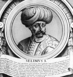 Sultan Selim I (1467 - 1520) in a 17th century print